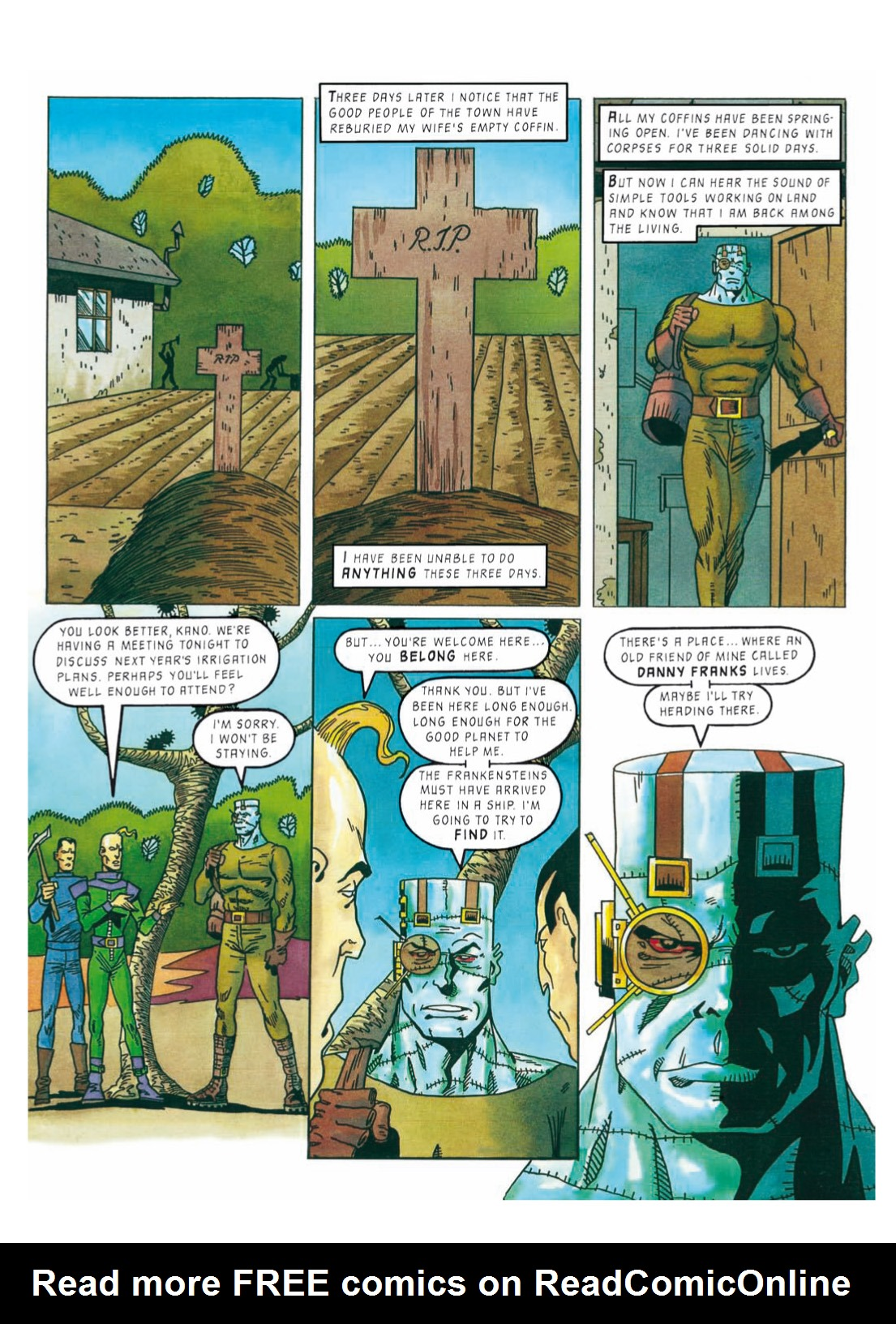 Read online The Complete Bad Company comic -  Issue # TPB - 321