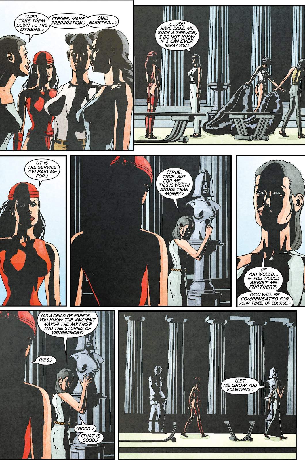 Read online Elektra (2001) comic -  Issue # _TPB Elektra by Greg Rucka Ultimate Collection (Part 1) - 48