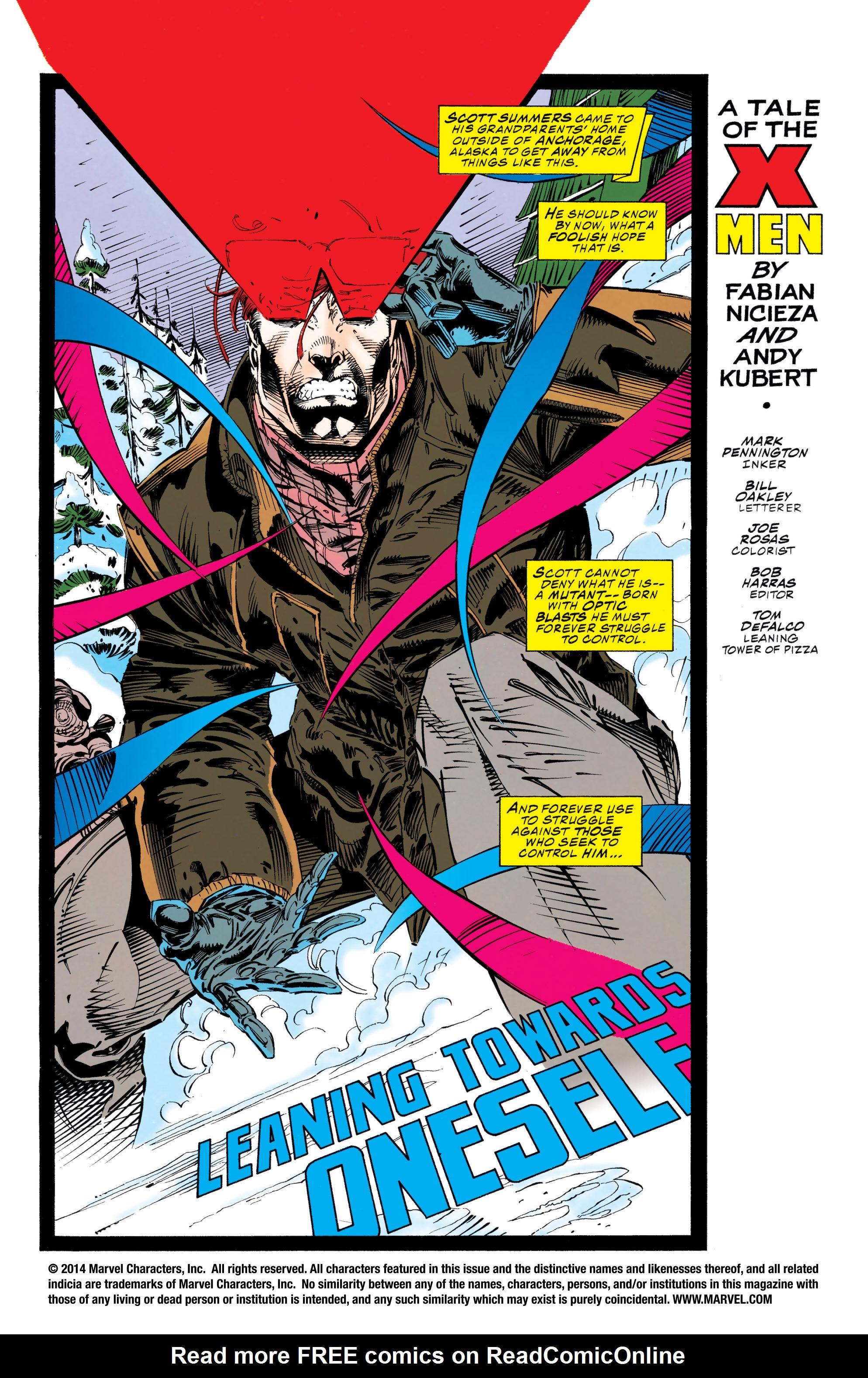 X-Men (1991) 23 Page 1