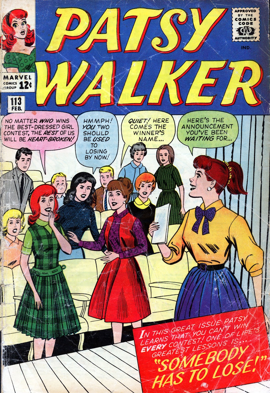 Patsy Walker 113 Page 1