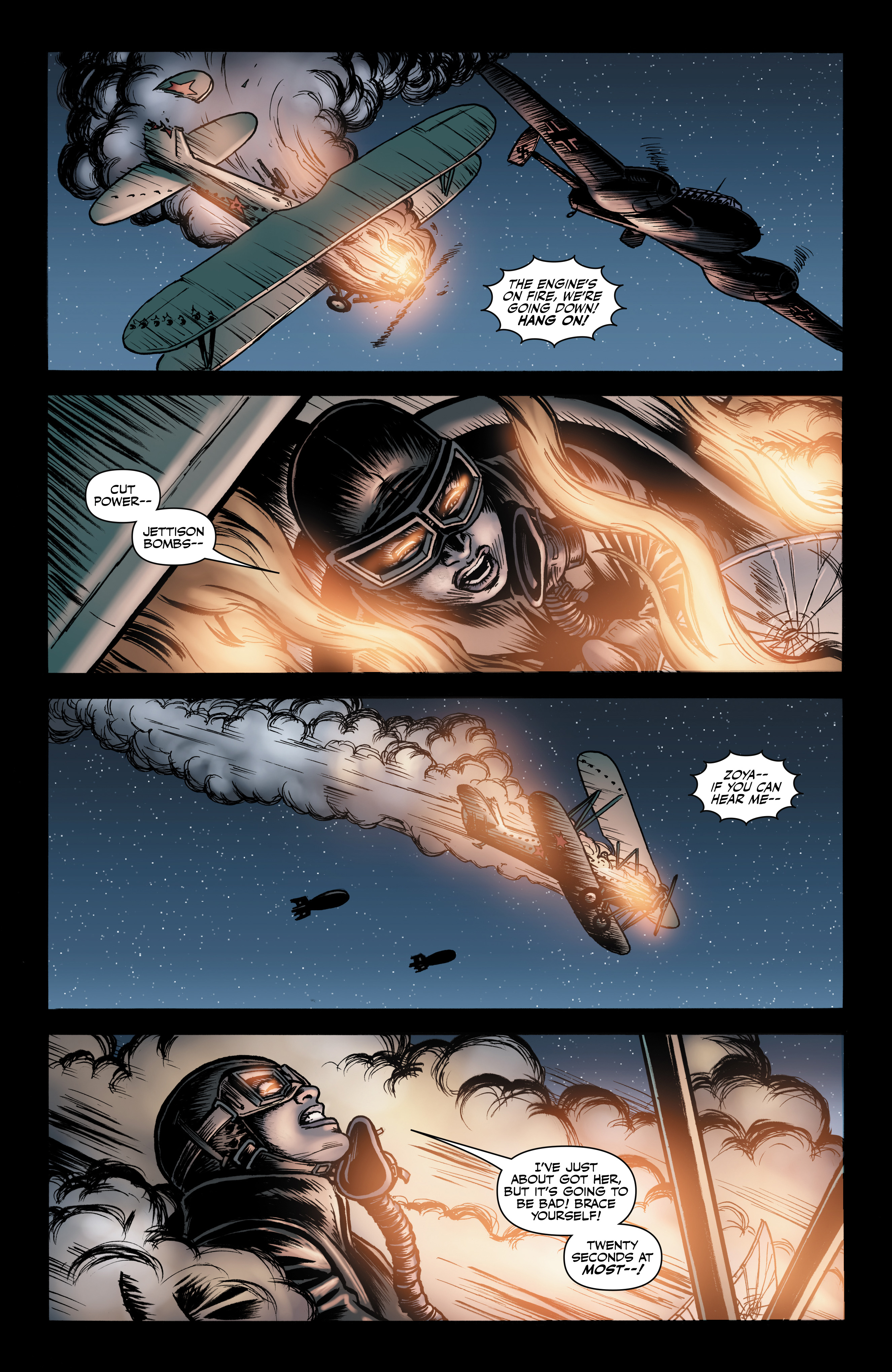 Read online Battlefields: Night Witches comic -  Issue # TPB - 63