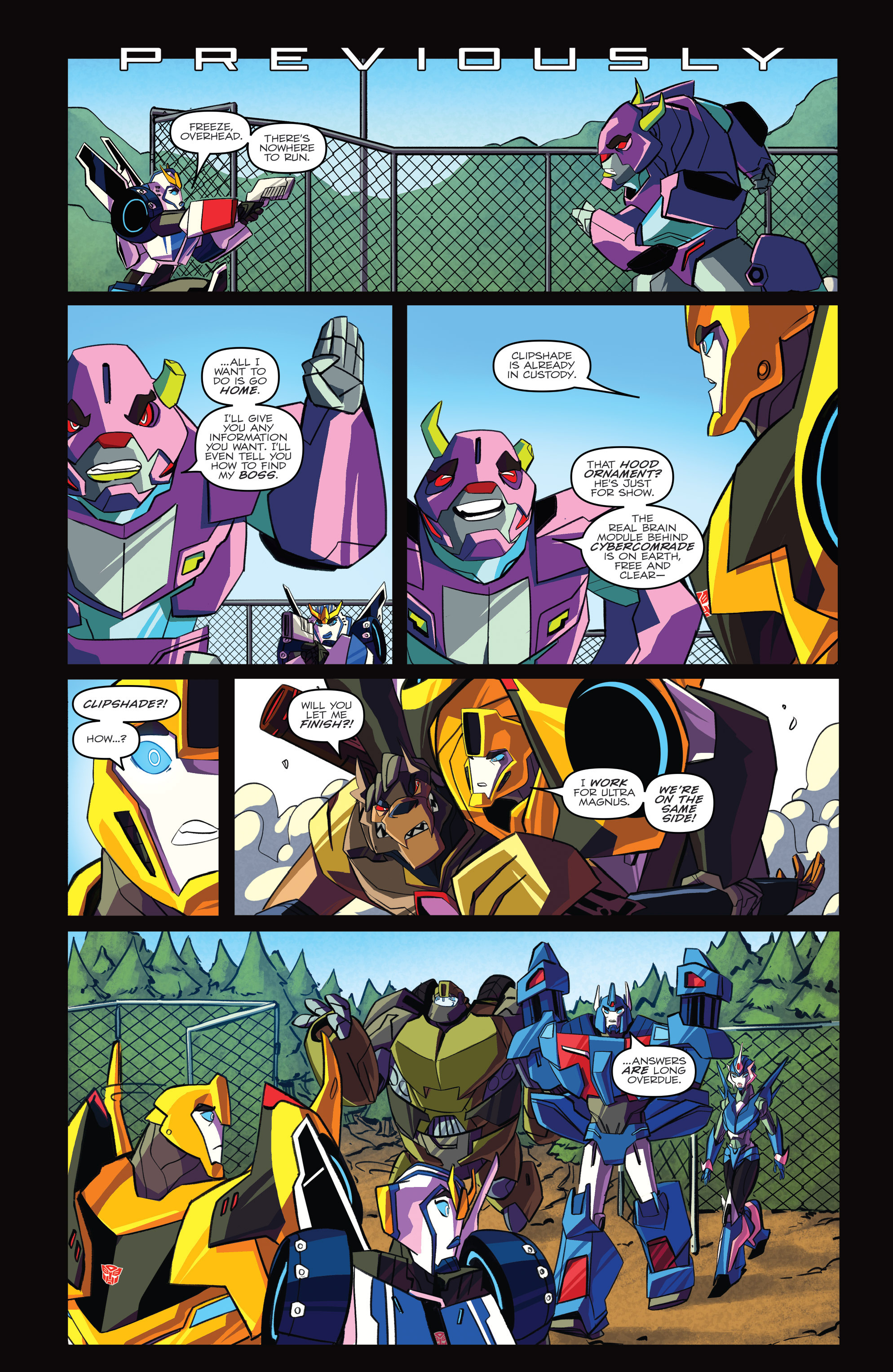 Read online Transformers: Robots In Disguise (2015) comic -  Issue #4 - 3