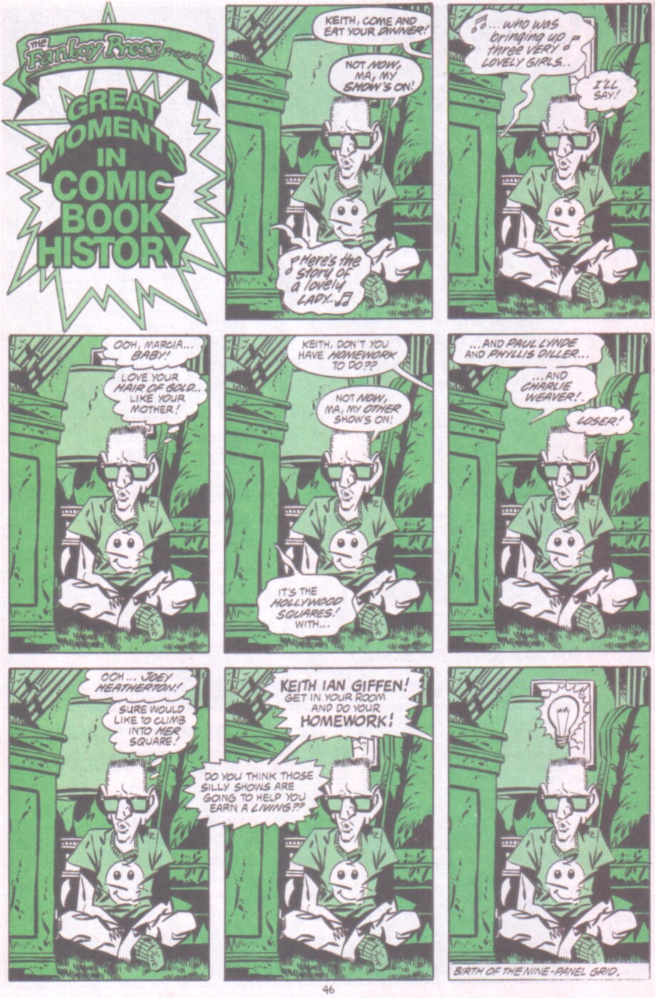 Read online Ambush Bug Nothing Special comic -  Issue # Full - 39
