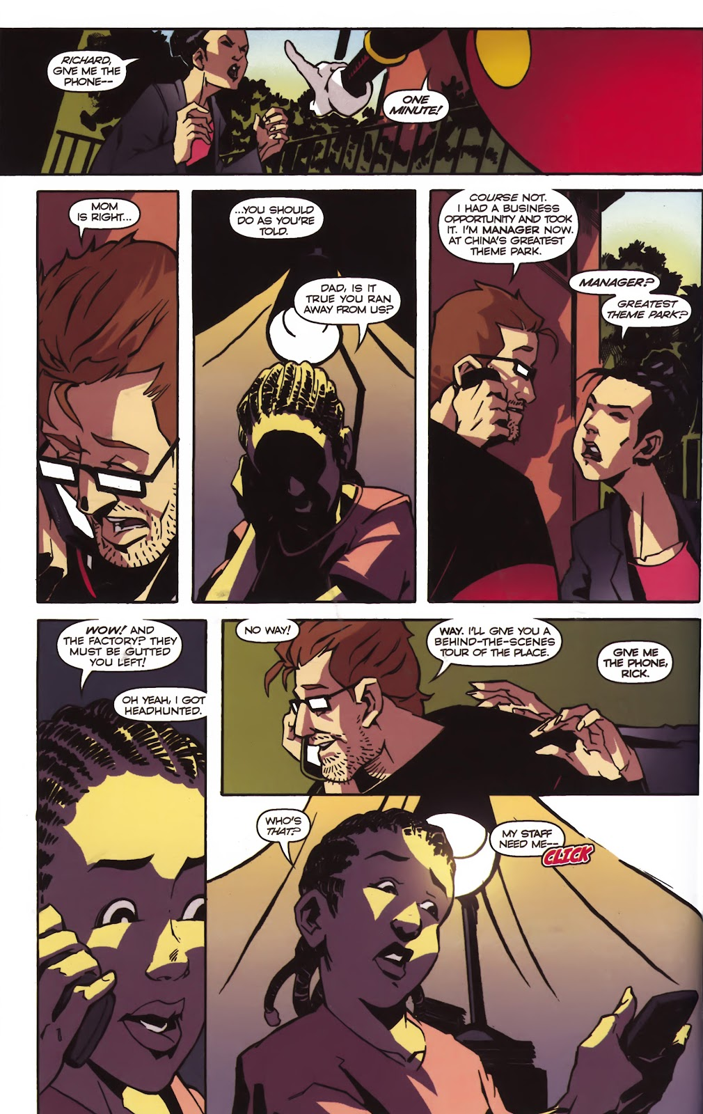 Read online Ricky Rouse Has A Gun comic -  Issue # TPB (Part 1) - 49