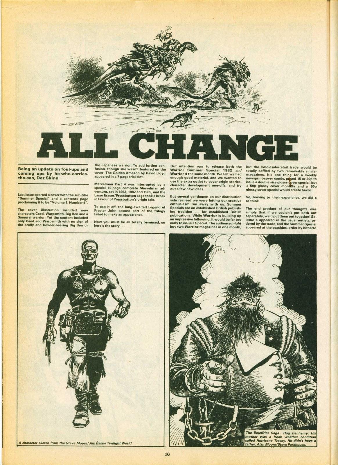 Warrior Issue #5 #6 - English 16