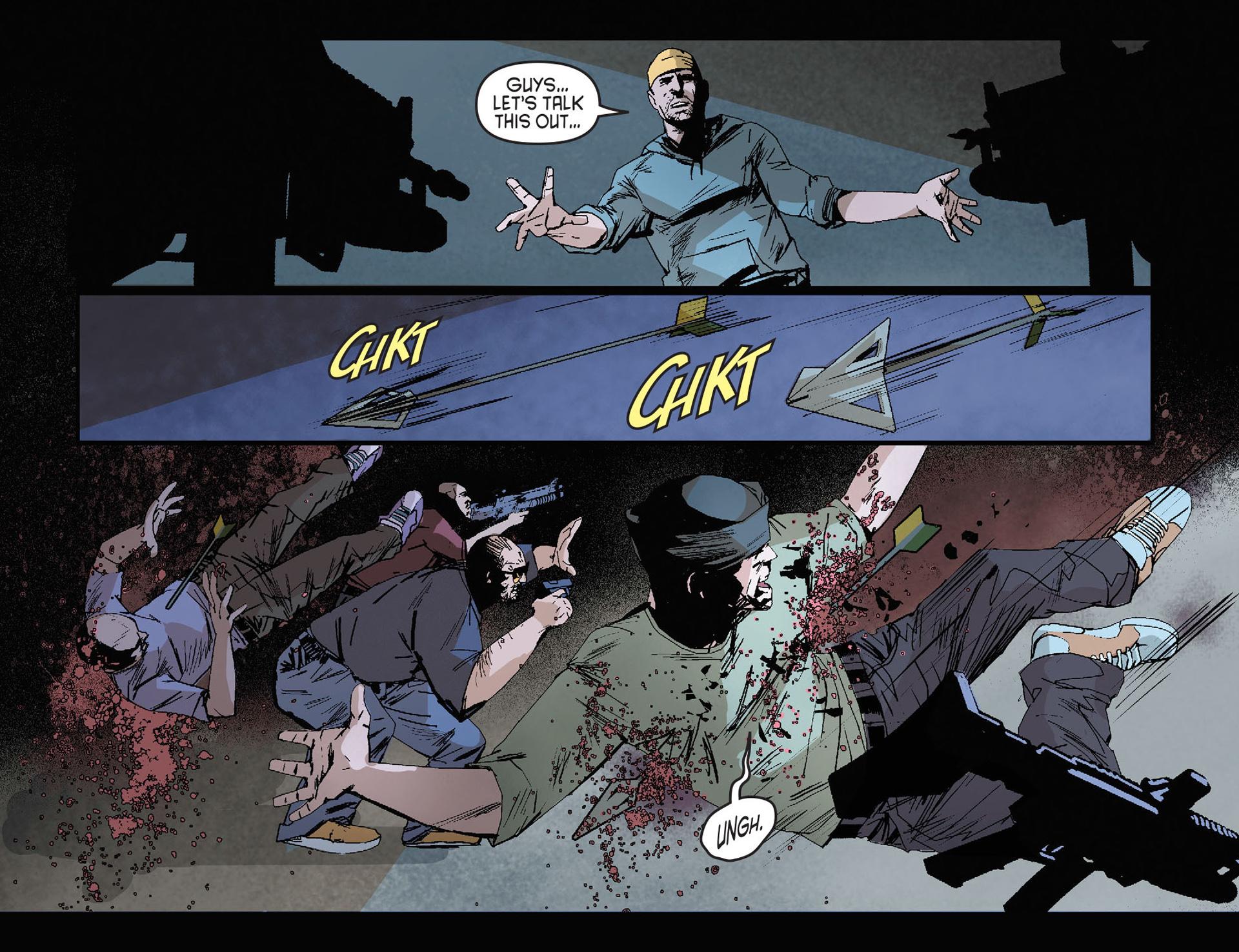 Read online Arrow [II] comic -  Issue #27 - 17