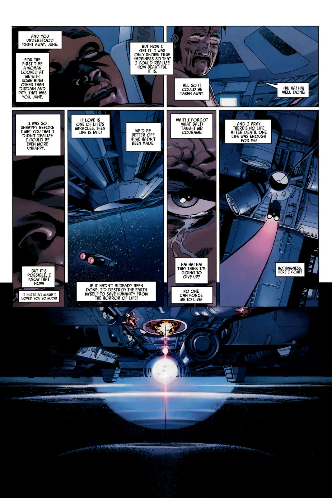 Read online Universal War One: Revelations comic -  Issue #2 - 34