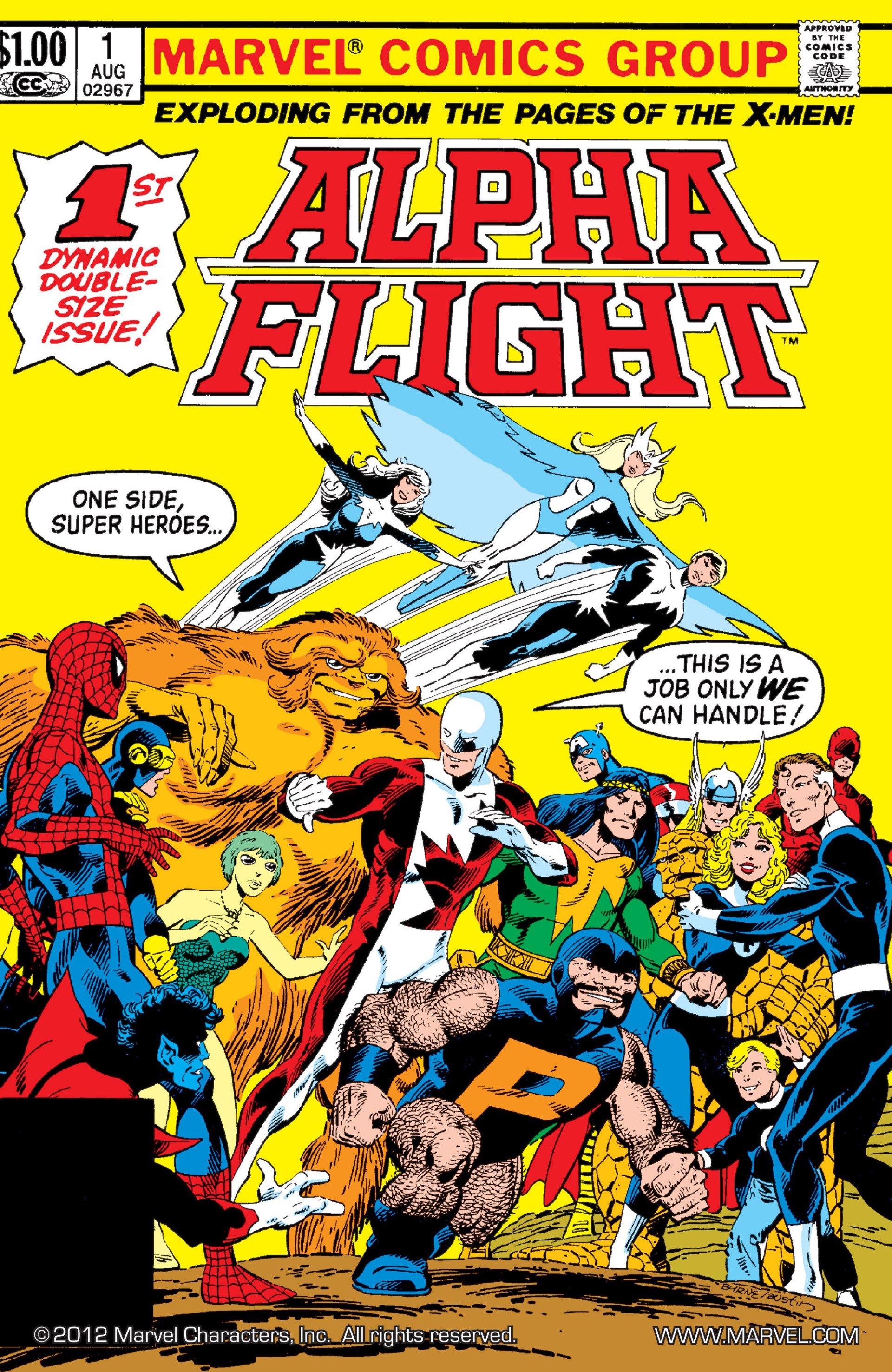 Read online Alpha Flight (1983) comic -  Issue #1 - 1