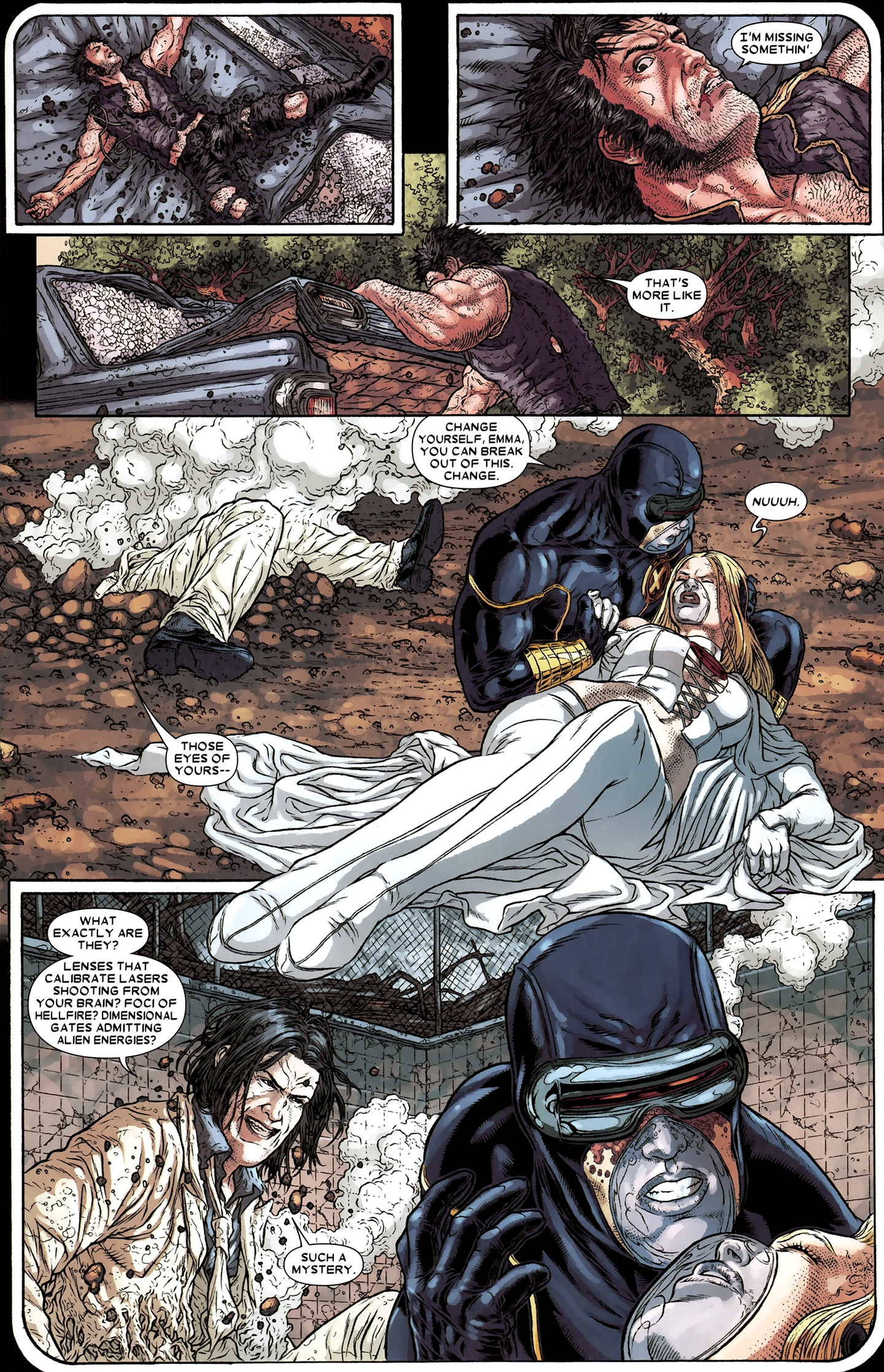 Read online Wolverine: The Best There Is comic -  Issue #12 - 13