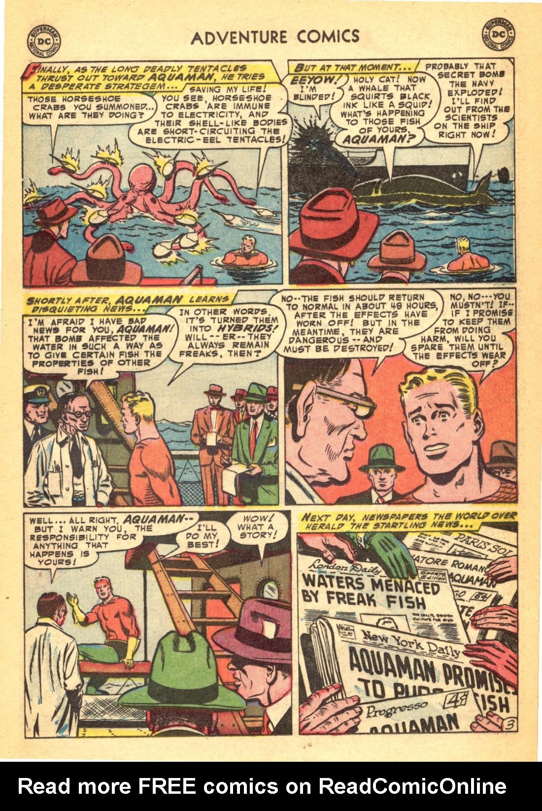 Read online Adventure Comics (1938) comic -  Issue #202 - 27