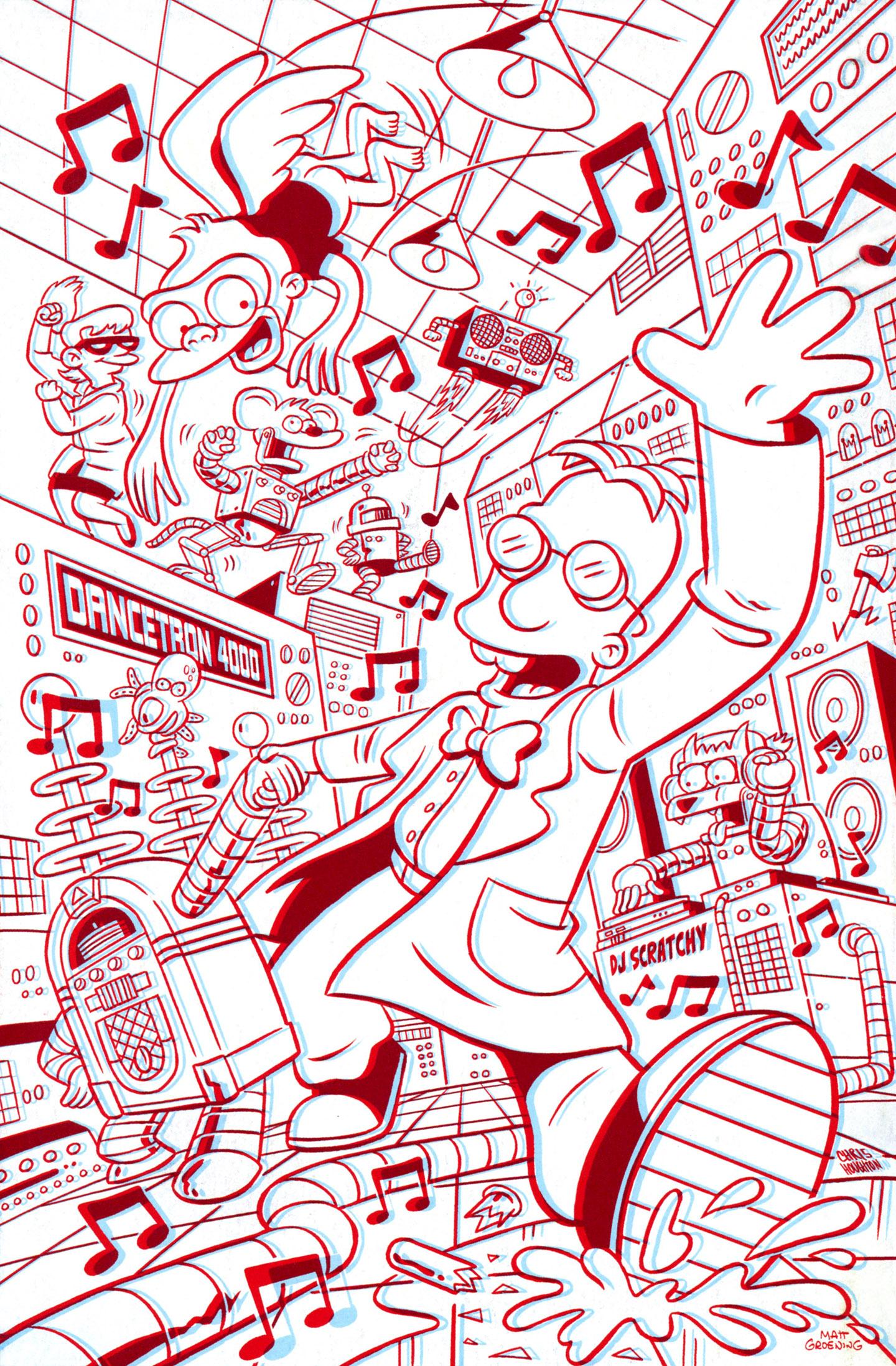 Read online Simpsons One-Shot Wonders: Professor Frink comic -  Issue # Full - 32
