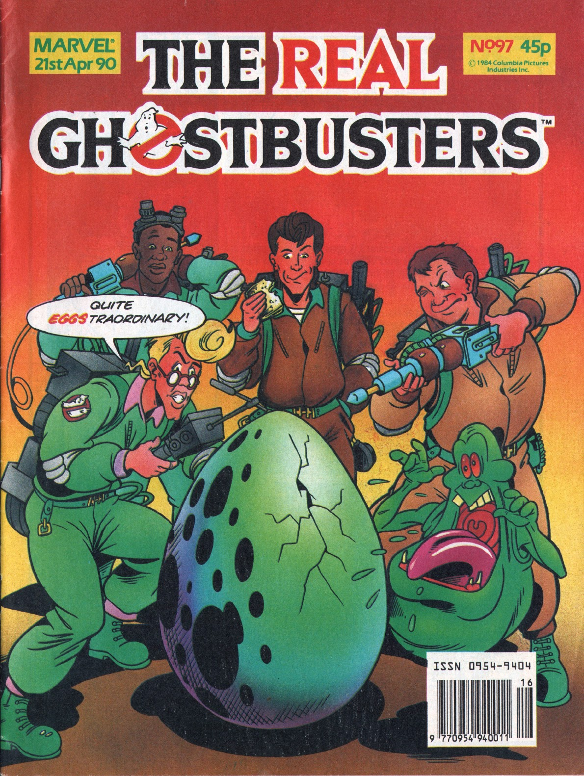The Real Ghostbusters 97 Page 1