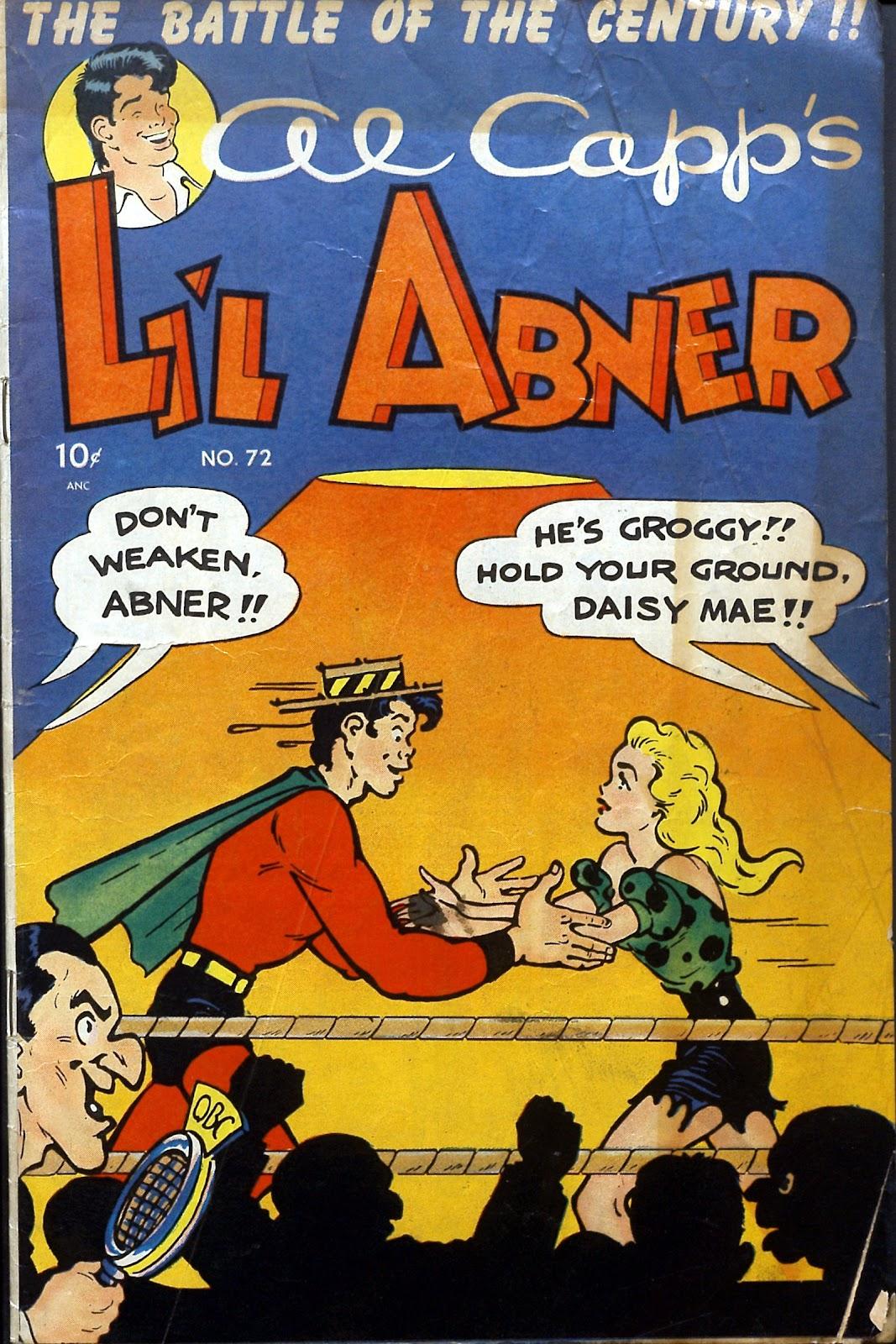 Li'l Abner Comics issue 72 - Page 1