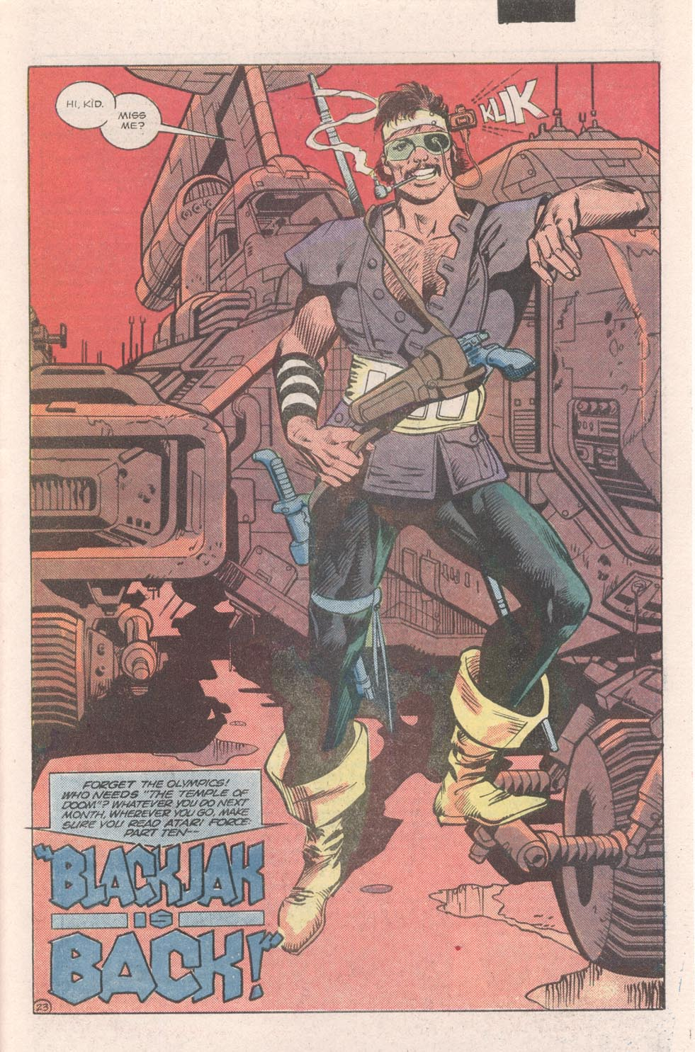 Read online Atari Force (1984) comic -  Issue #9 - 25