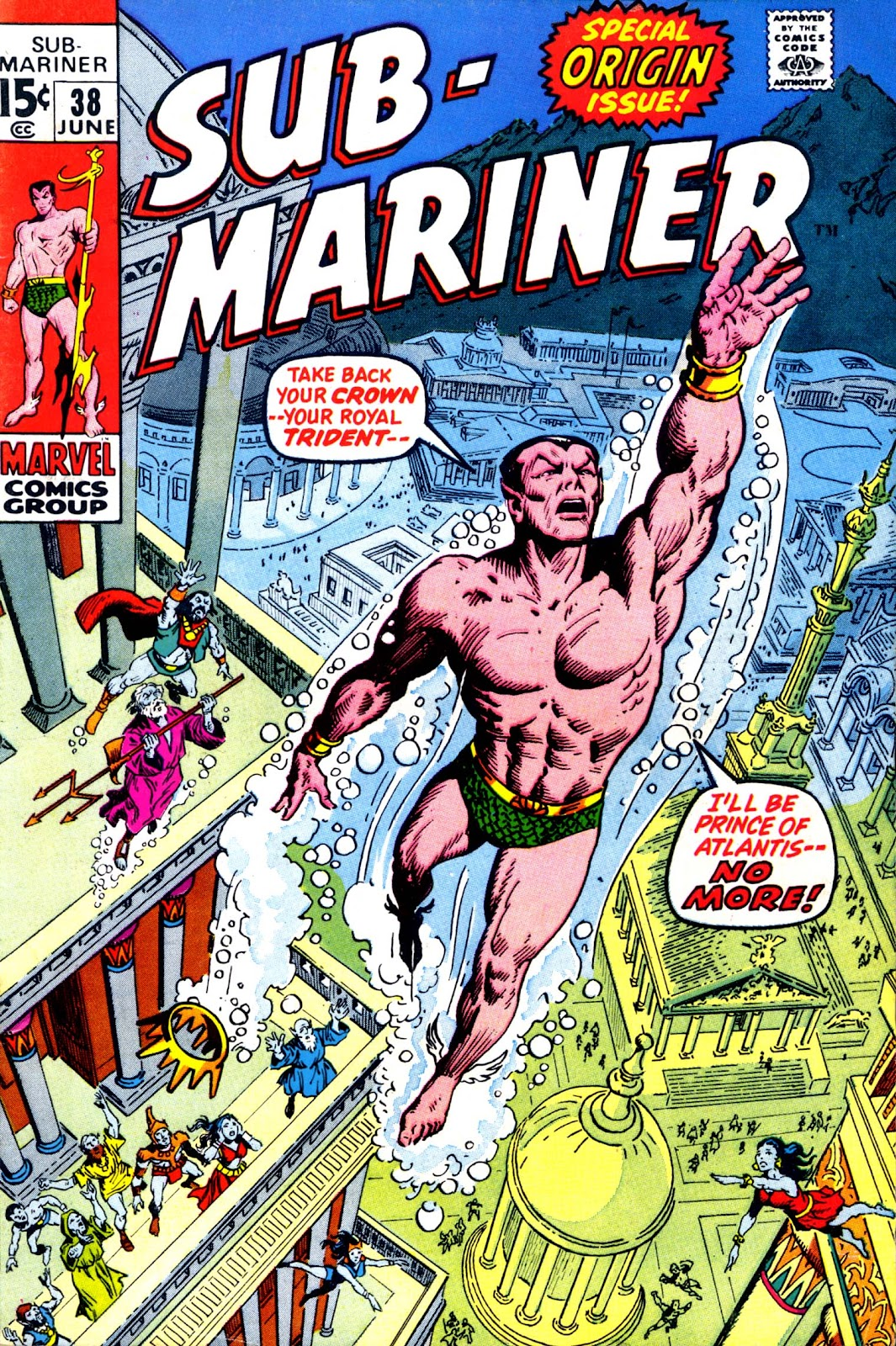 The Sub-Mariner 38 Page 1