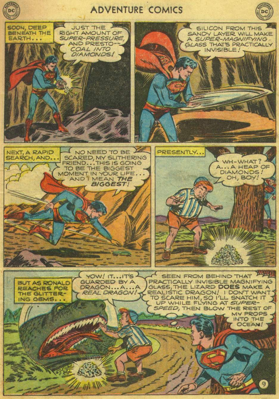 Read online Adventure Comics (1938) comic -  Issue #168 - 11