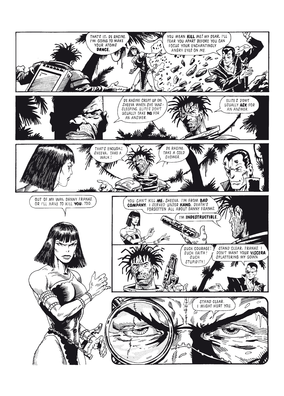 Read online The Complete Bad Company comic -  Issue # TPB - 158