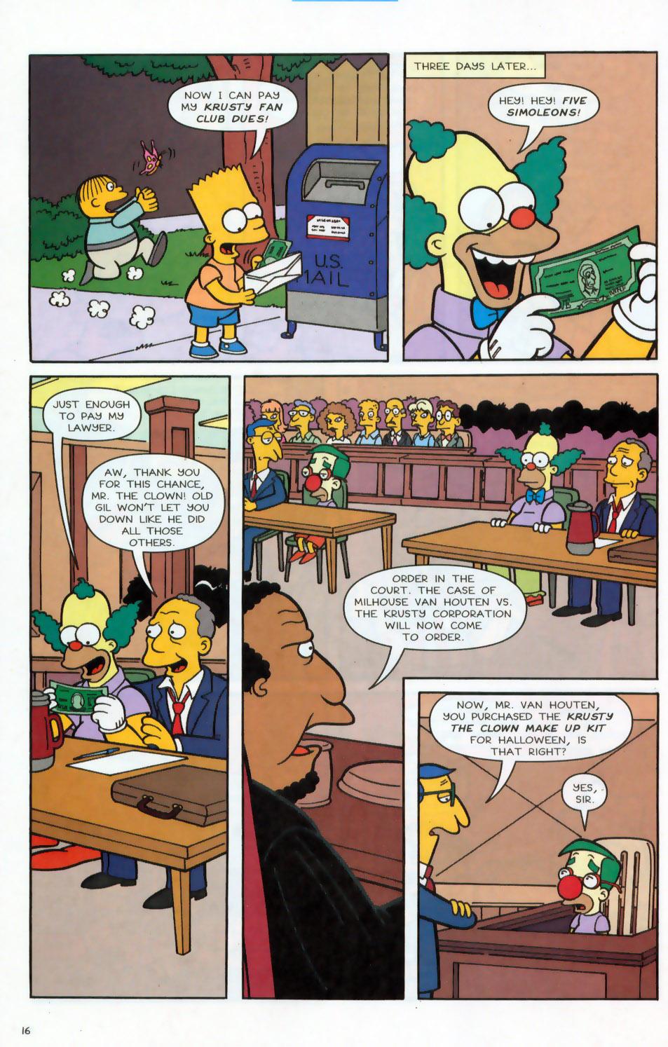 Read online Simpsons Comics comic -  Issue #78 - 17