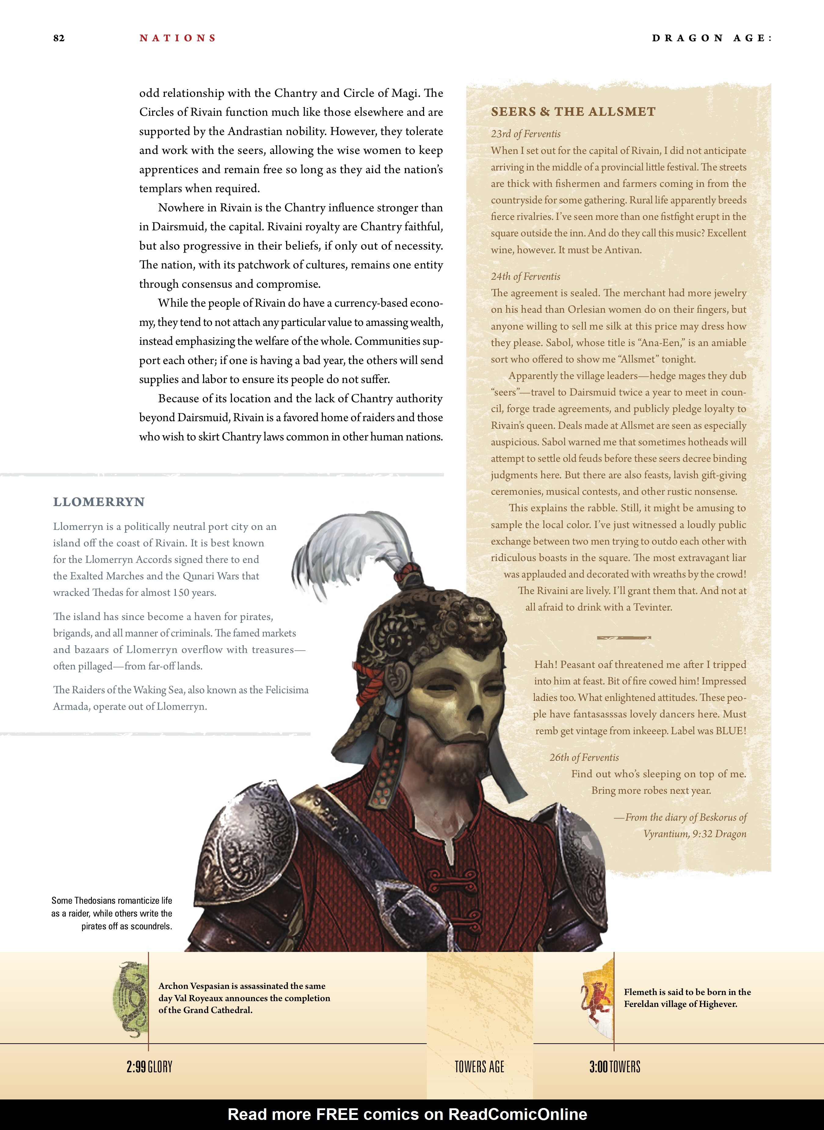 Read online Dragon Age: The World of Thedas comic -  Issue # TPB 1 - 66