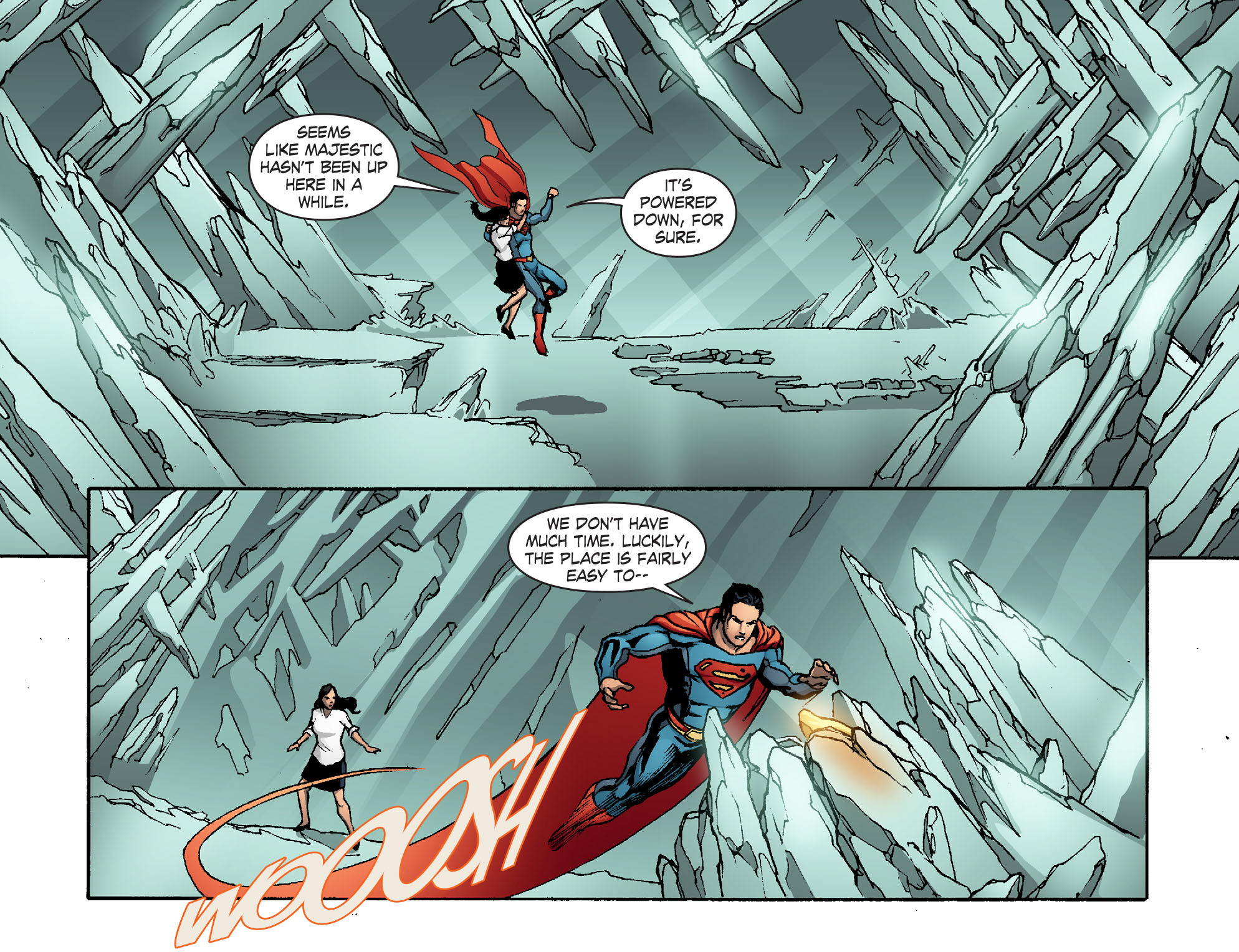 Read online Smallville: Chaos [II] comic -  Issue #5 - 19
