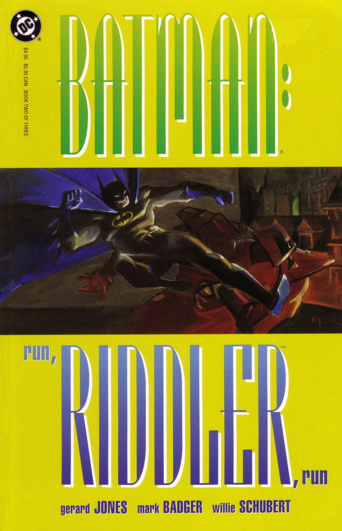 Batman: Run, Riddler, Run 2 Page 1