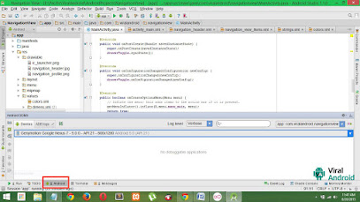 Android Studio DDMS window