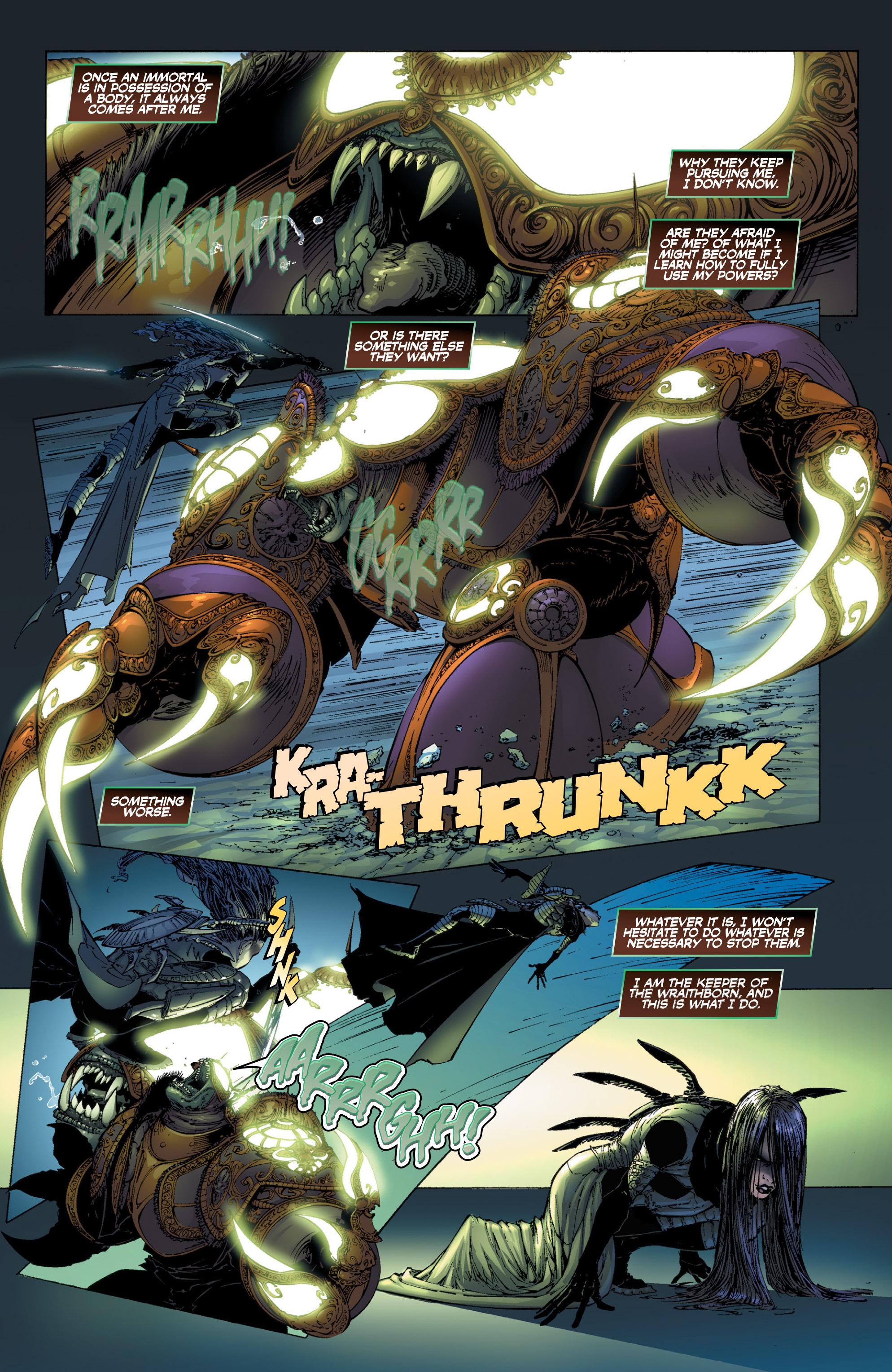 Read online Wraithborn Redux comic -  Issue #1 - 8