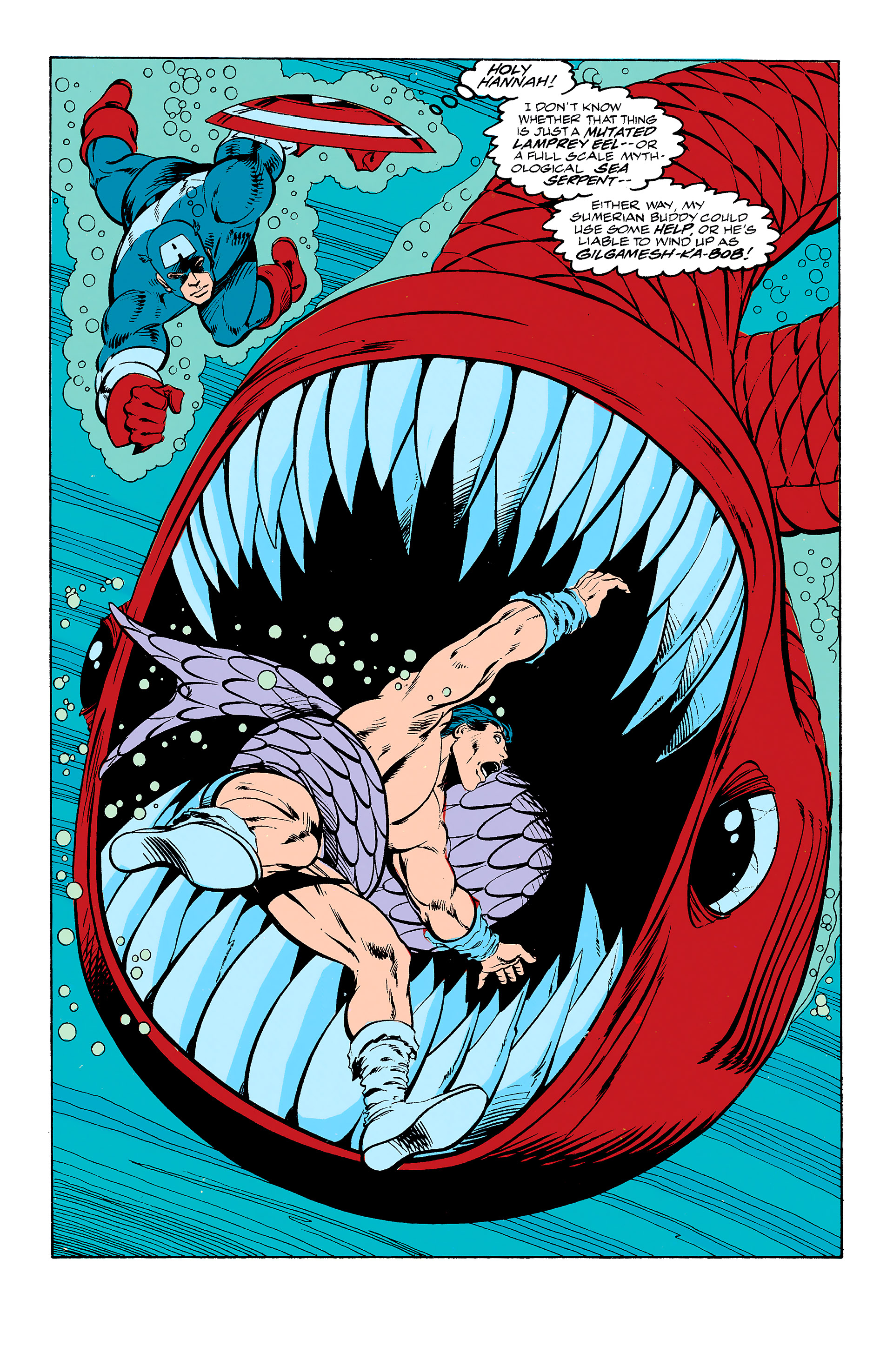 Read online Captain America (1968) comic -  Issue # _Annual 11 - 22