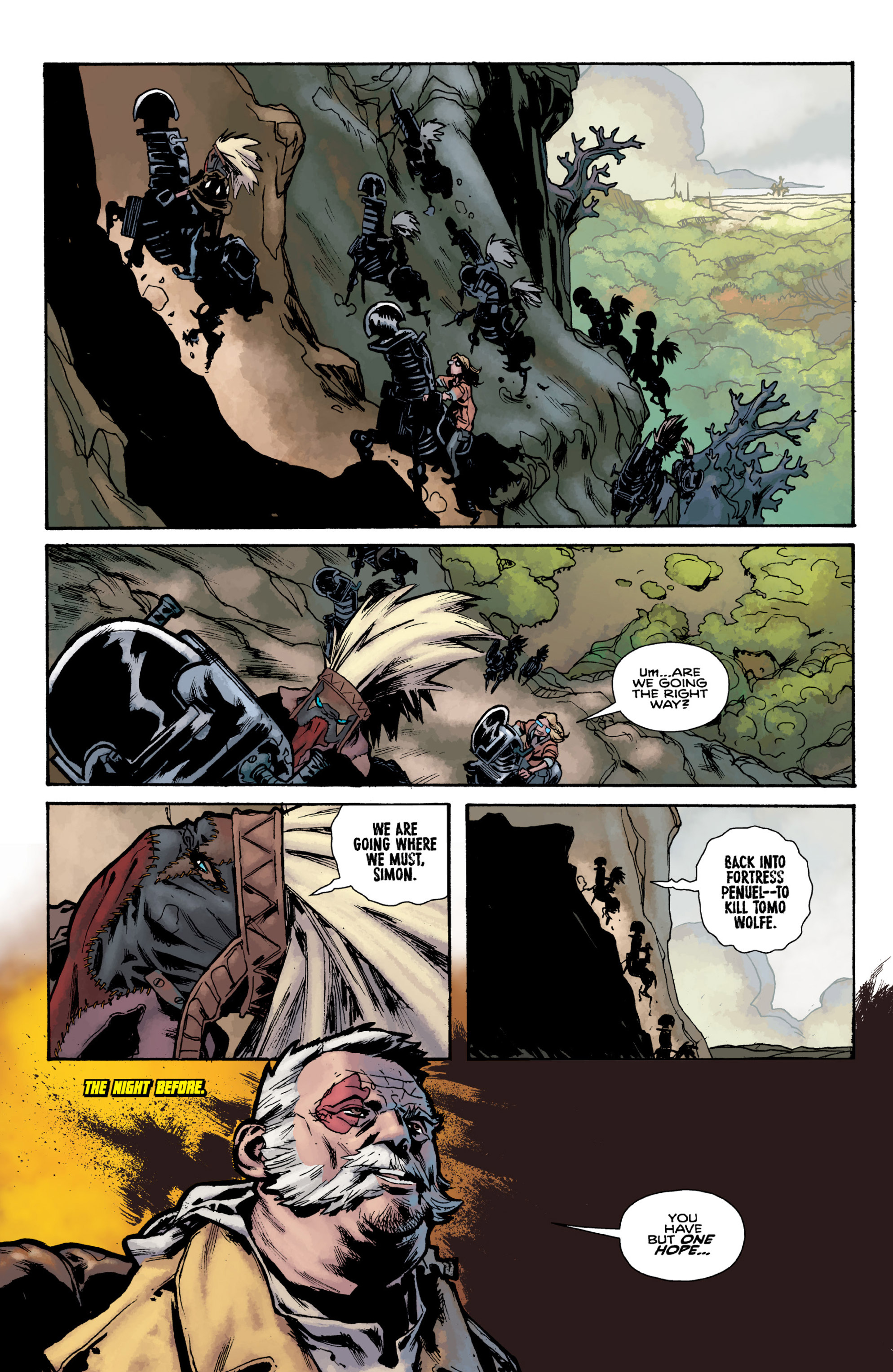 Read online Orchid comic -  Issue # TPB 3 - 25