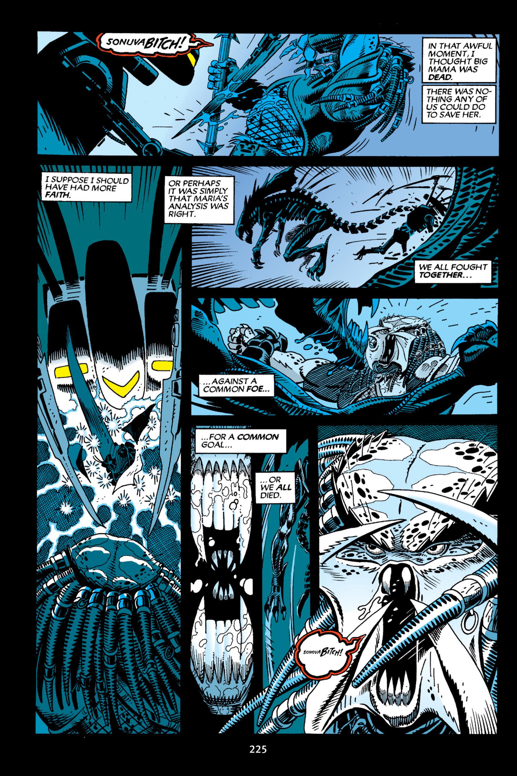 Read online Aliens vs. Predator Omnibus comic -  Issue # _TPB 2 Part 3 - 2