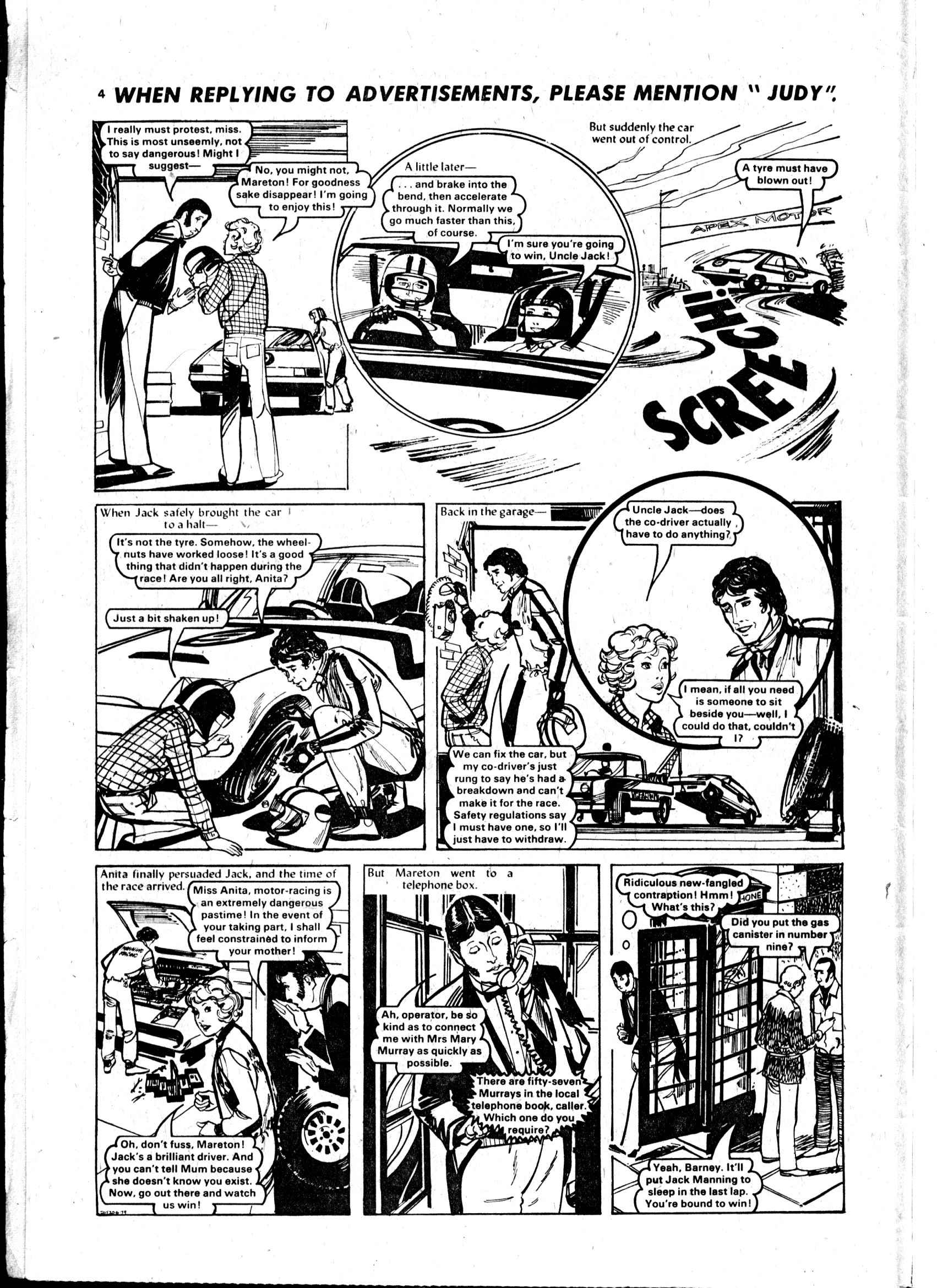 Read online Judy comic -  Issue #16 - 4