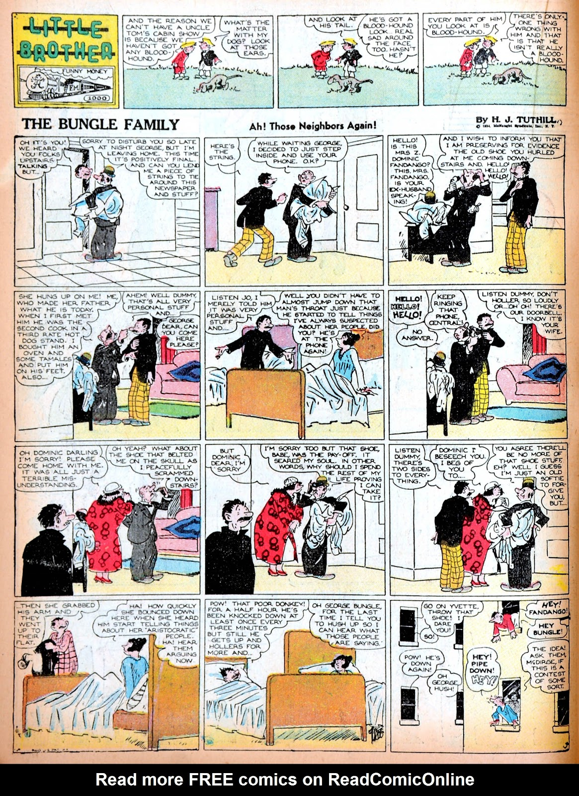 Read online Famous Funnies comic -  Issue #11 - 34