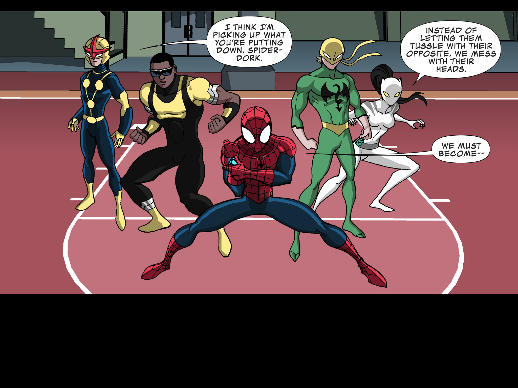 Read online Ultimate Spider-Man (Infinite Comics) (2015) comic -  Issue #24 - 10