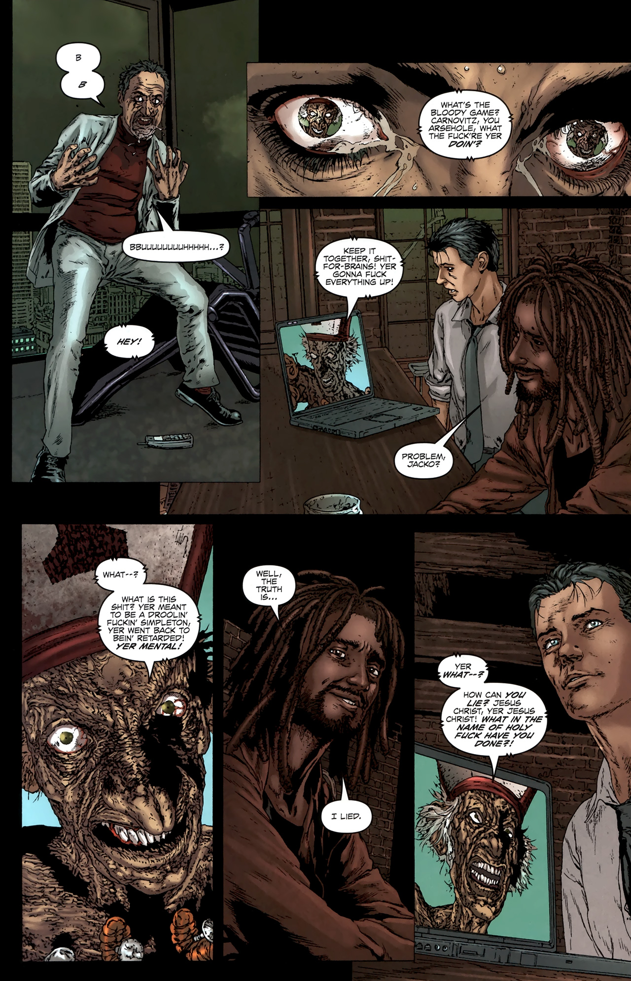 Read online Chronicles of Wormwood: The Last Battle comic -  Issue #6 - 18