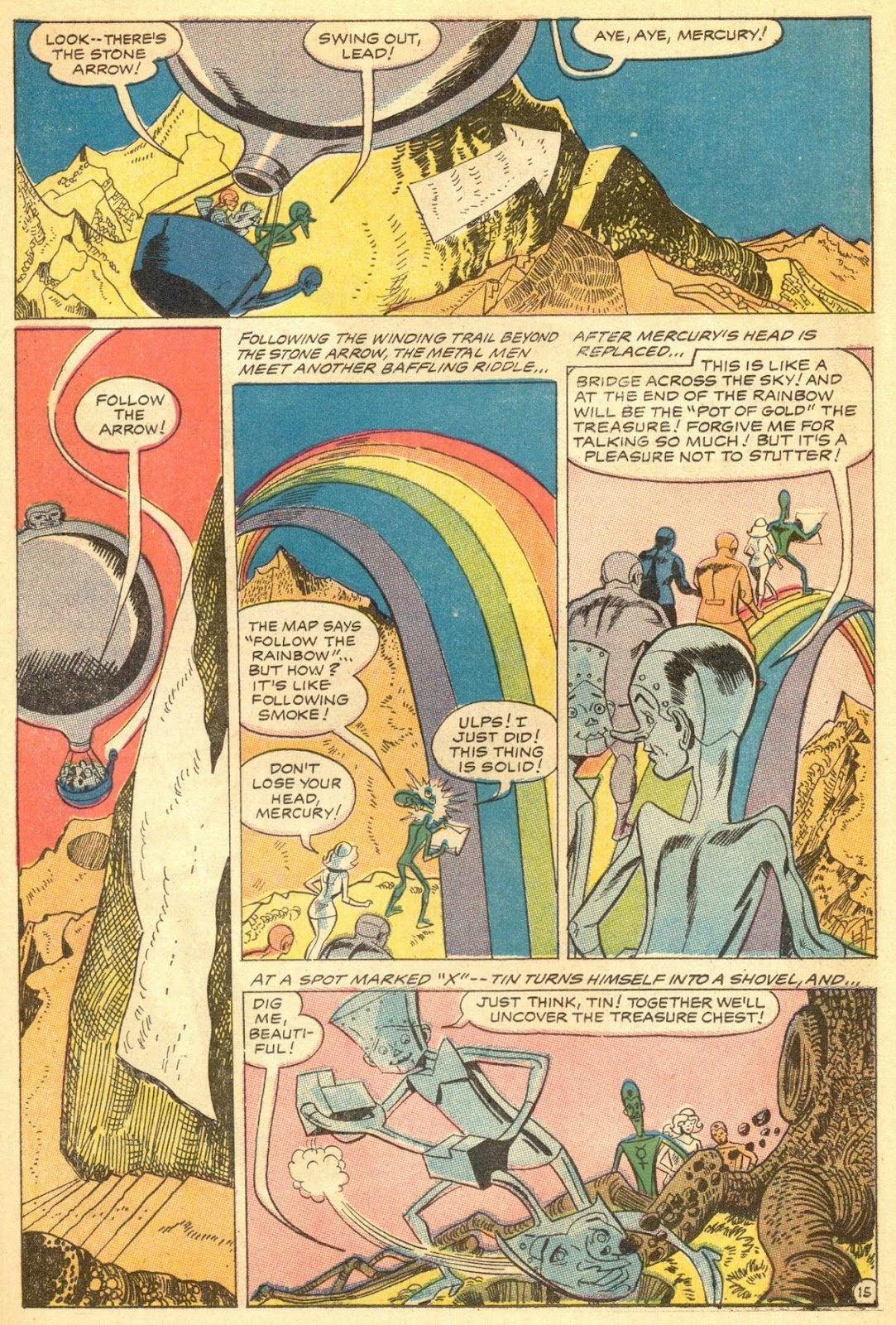 Metal Men (1963) issue 30 - Page 18