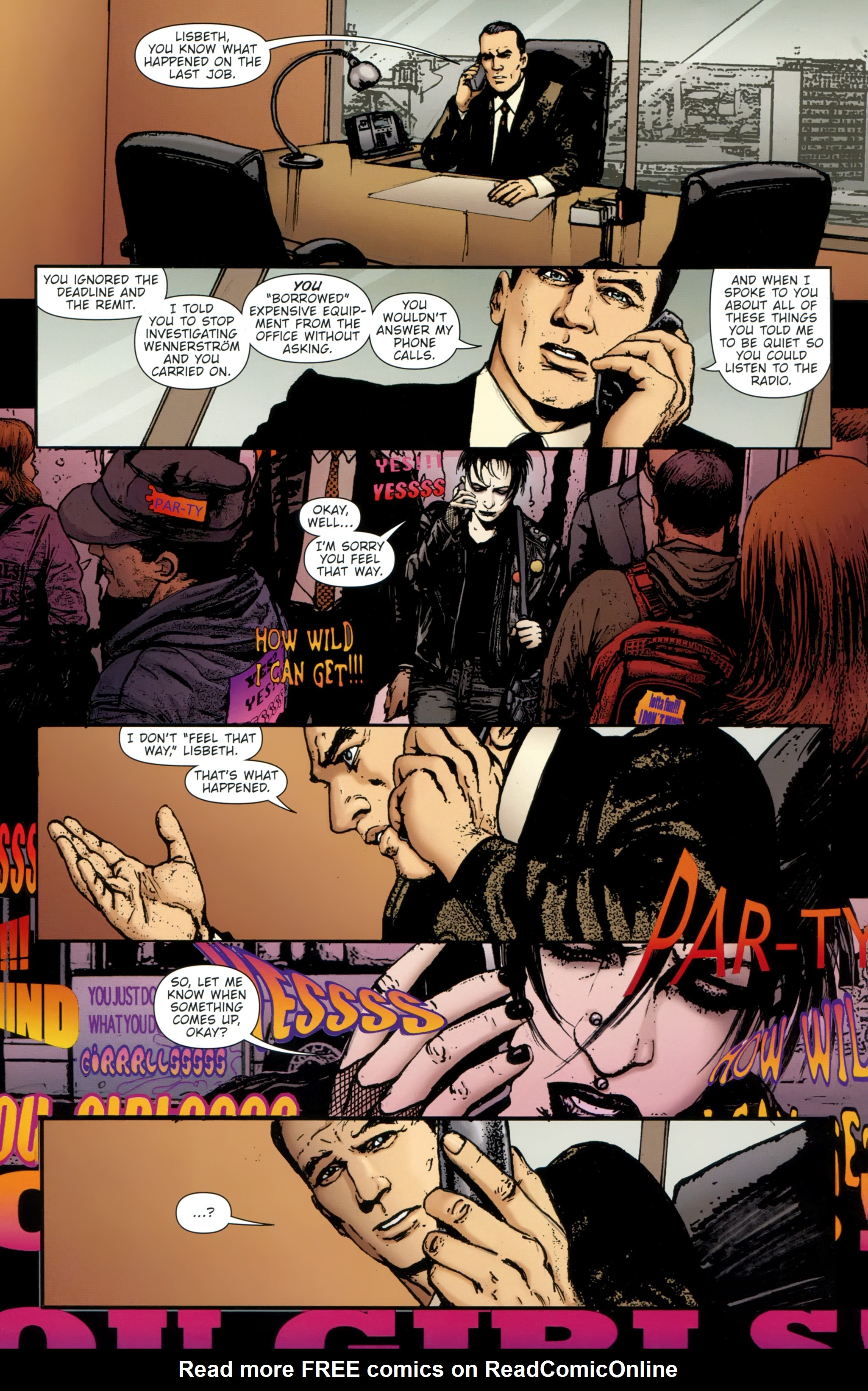 Read online The Girl With the Dragon Tattoo comic -  Issue # TPB 2 - 25
