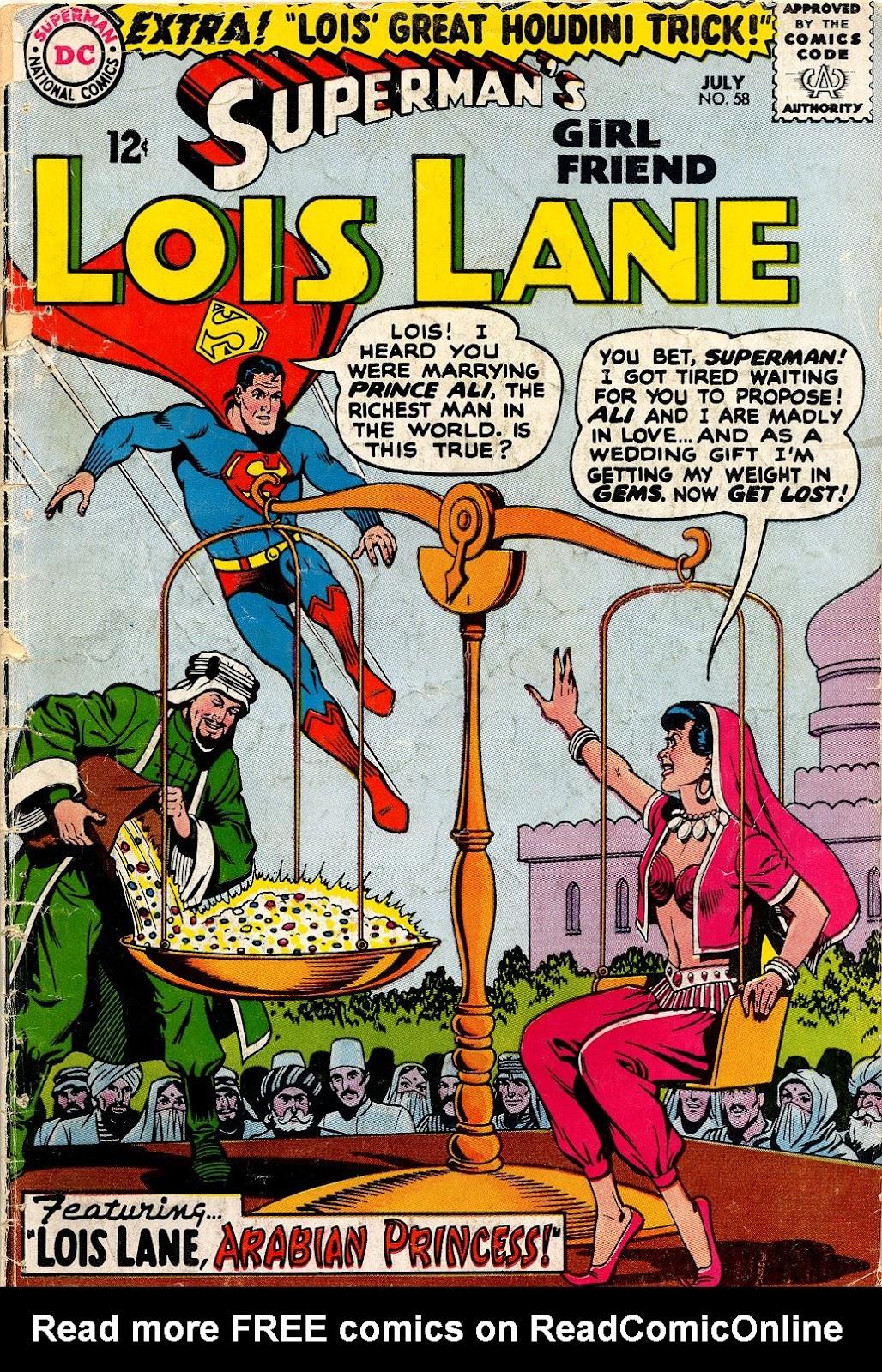 Supermans Girl Friend, Lois Lane 58 Page 1