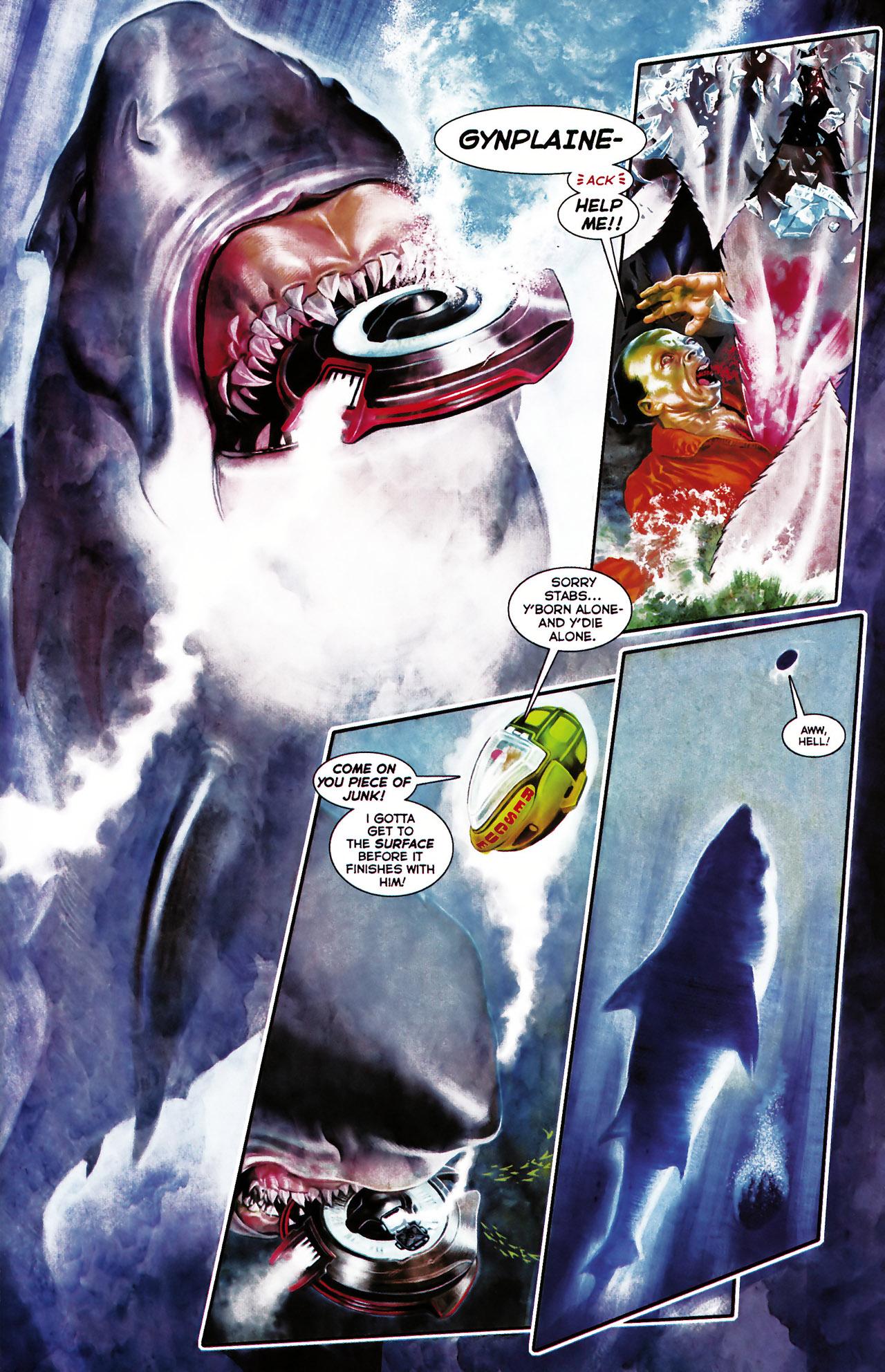Read online Shark-Man comic -  Issue #1 - 5