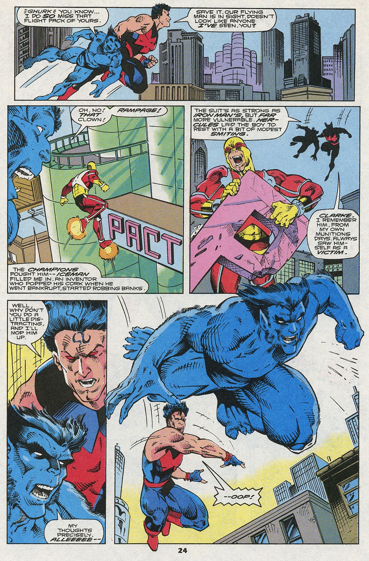 Read online Wonder Man (1991) comic -  Issue #5 - 19