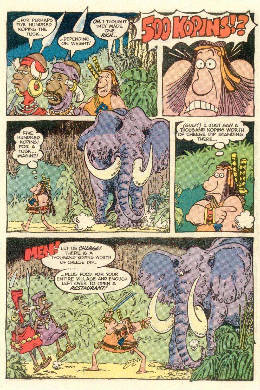 Read online Sergio Aragonés Groo the Wanderer comic -  Issue #7 - 13