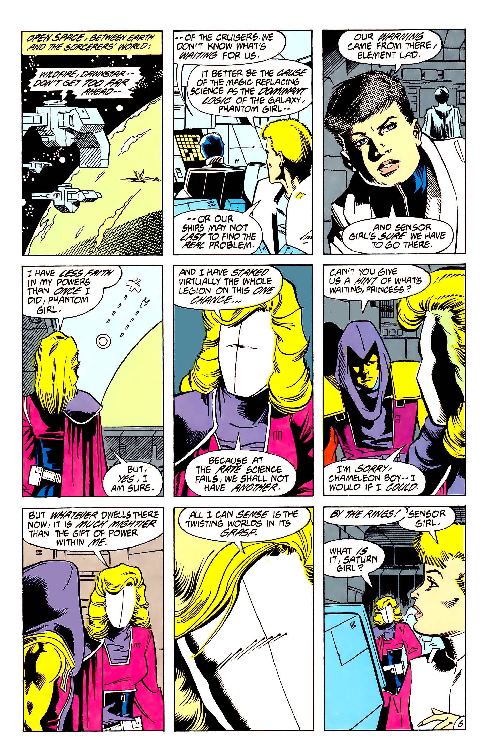 Legion of Super-Heroes (1984) 62 Page 6