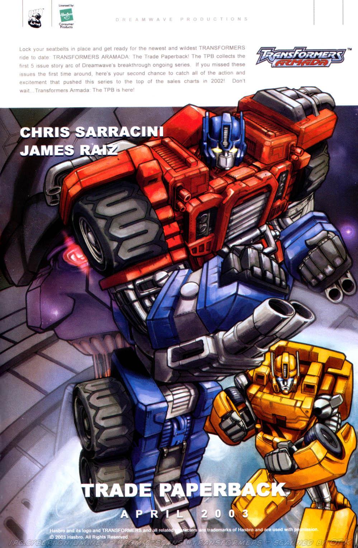 Read online Transformers Armada comic -  Issue #8 - 28