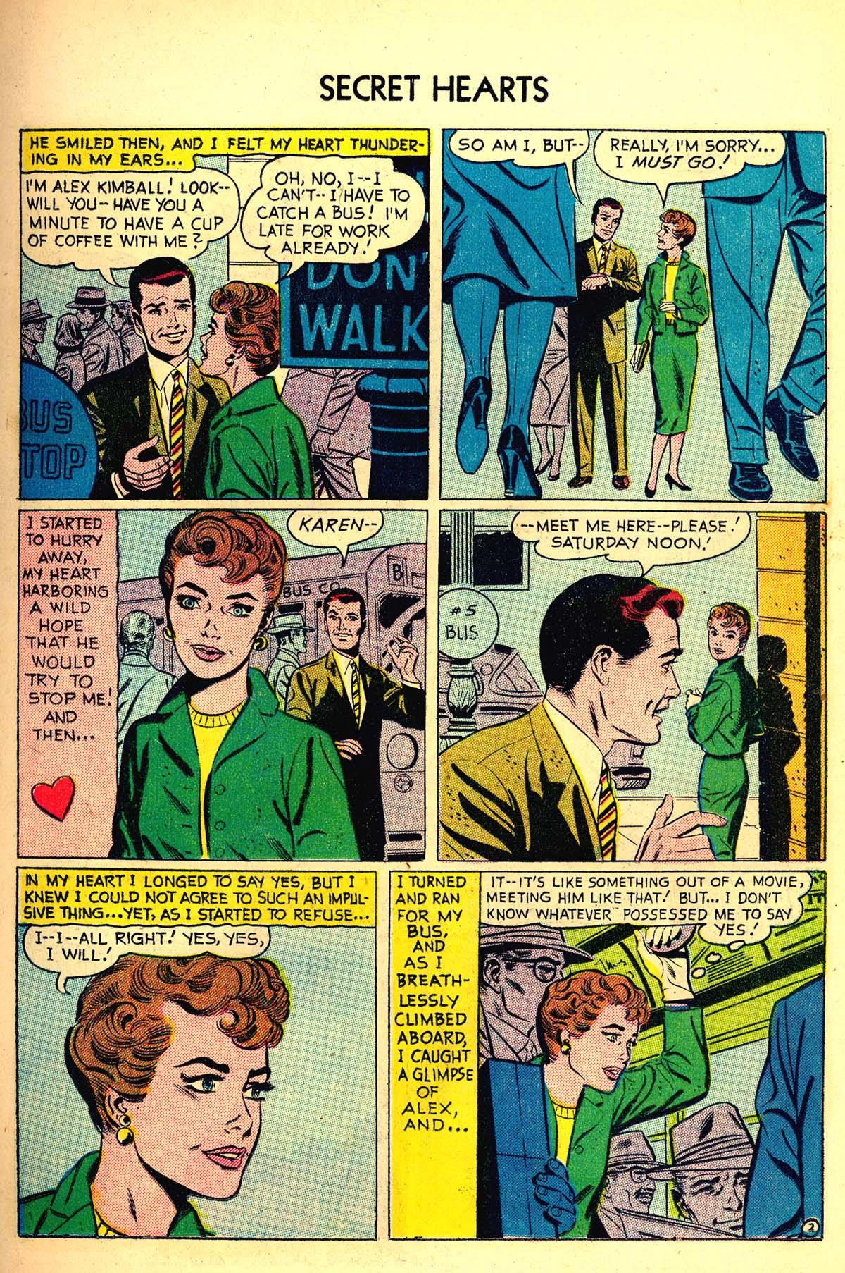 Read online Secret Hearts comic -  Issue #34 - 11