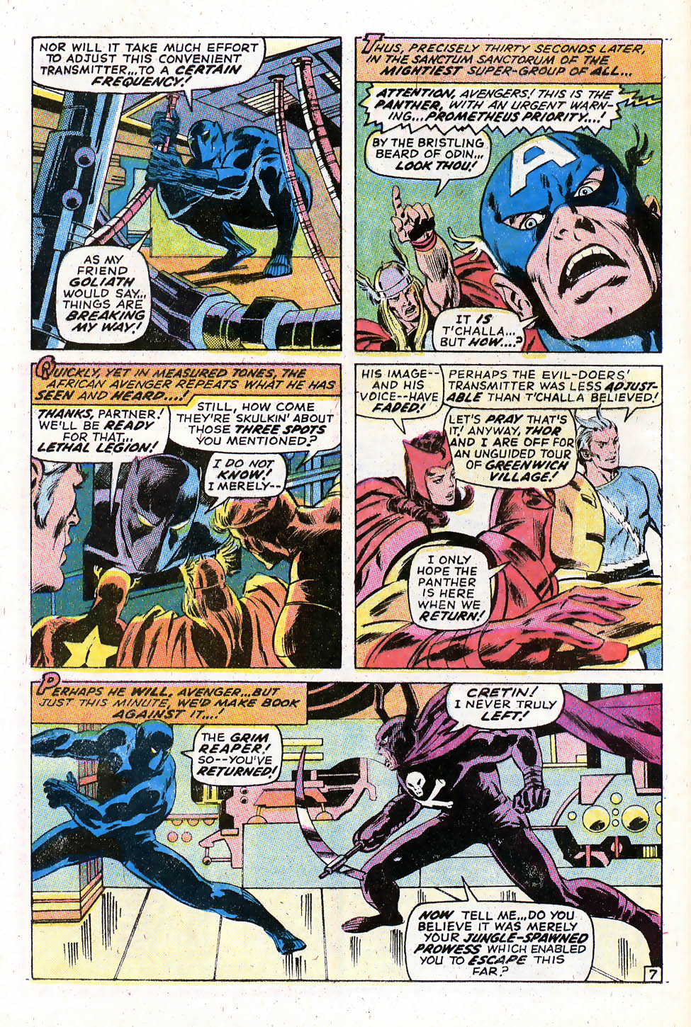 The Avengers (1963) 79 Page 7