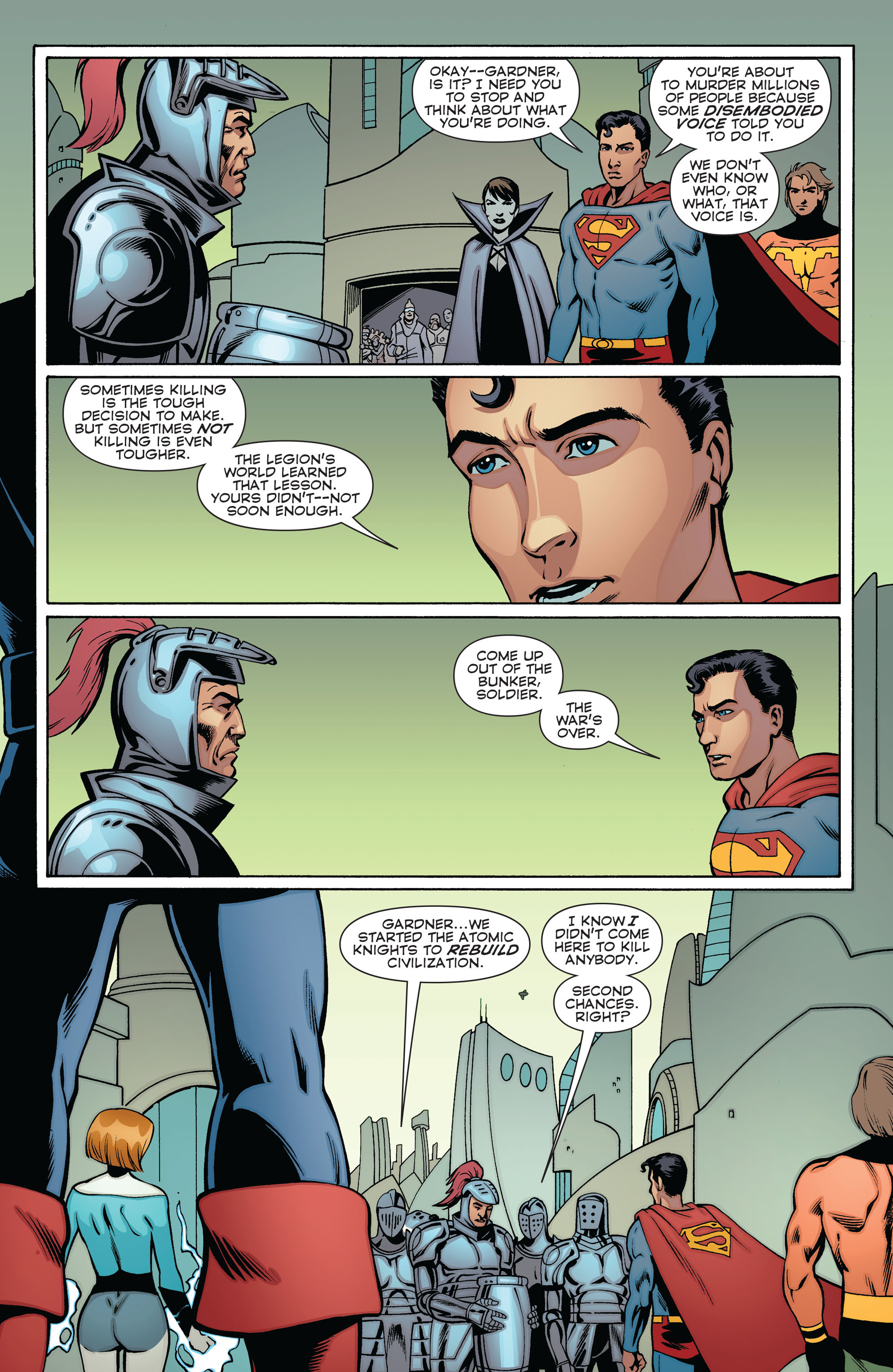Read online Convergence Superboy and the Legion of Super-Heroes comic -  Issue #2 - 17