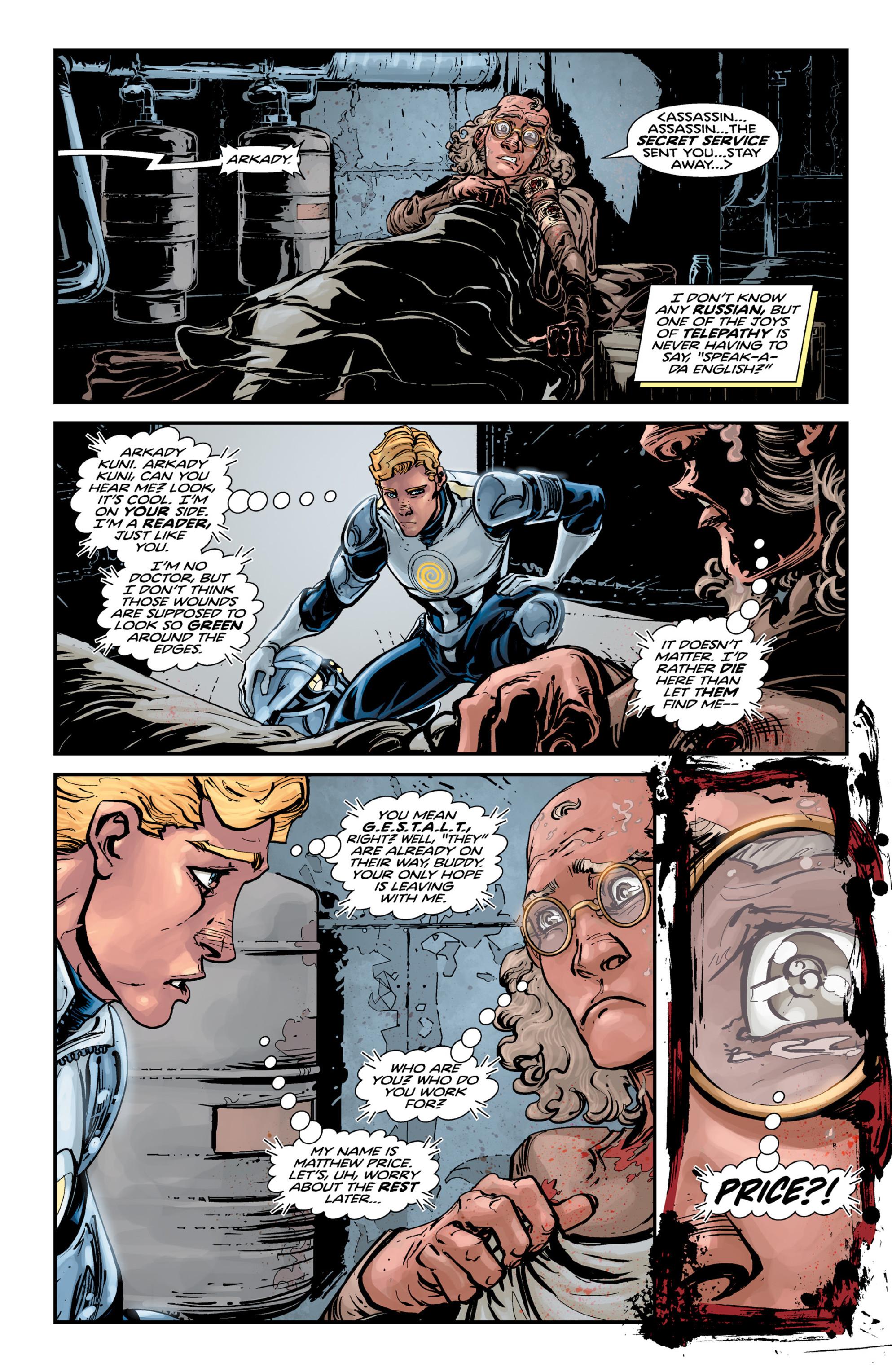 Read online Brain Boy:  The Men from G.E.S.T.A.L.T. comic -  Issue # TPB - 74