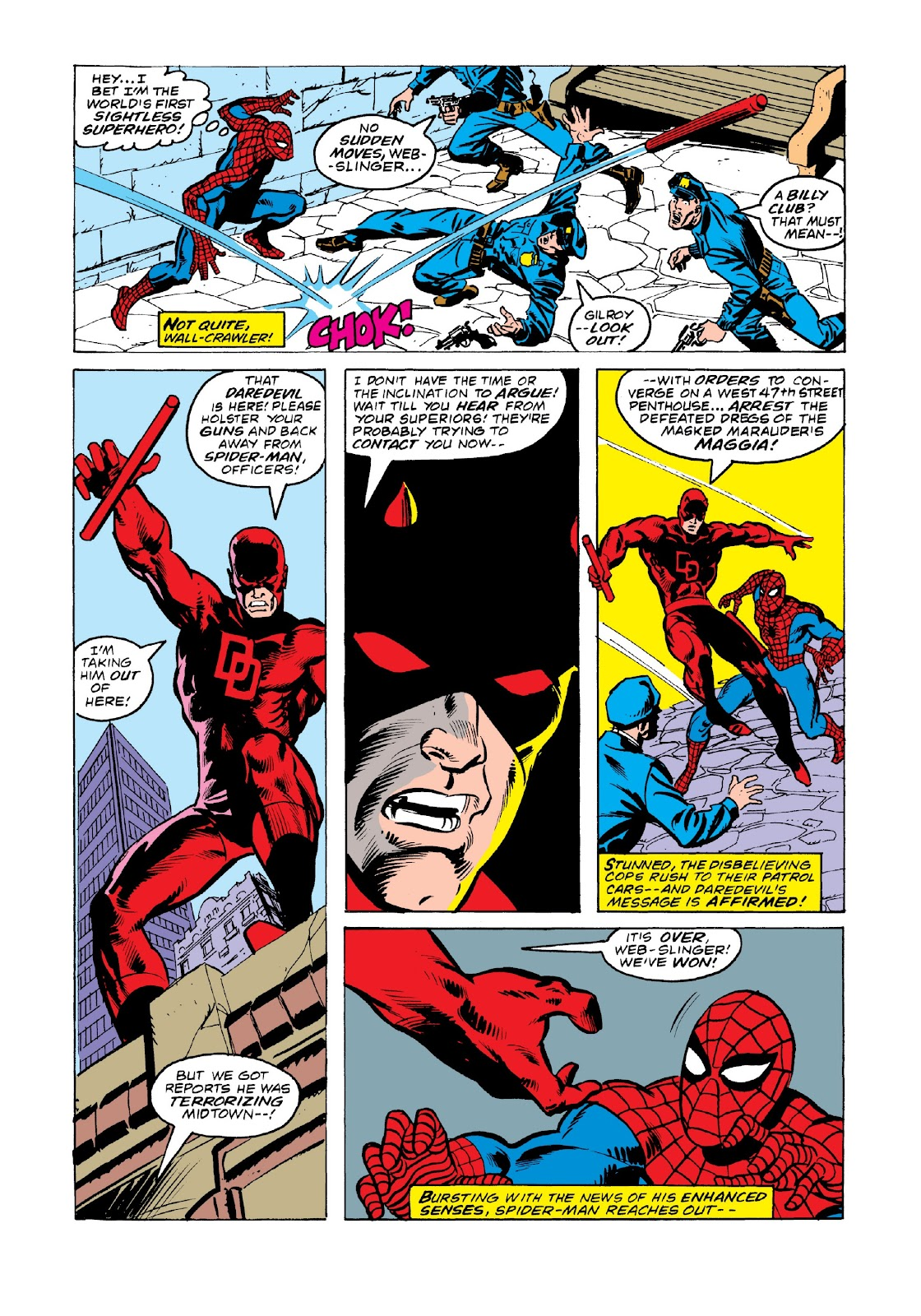 Read online Marvel Masterworks: The Spectacular Spider-Man comic -  Issue # TPB 2 (Part 3) - 36