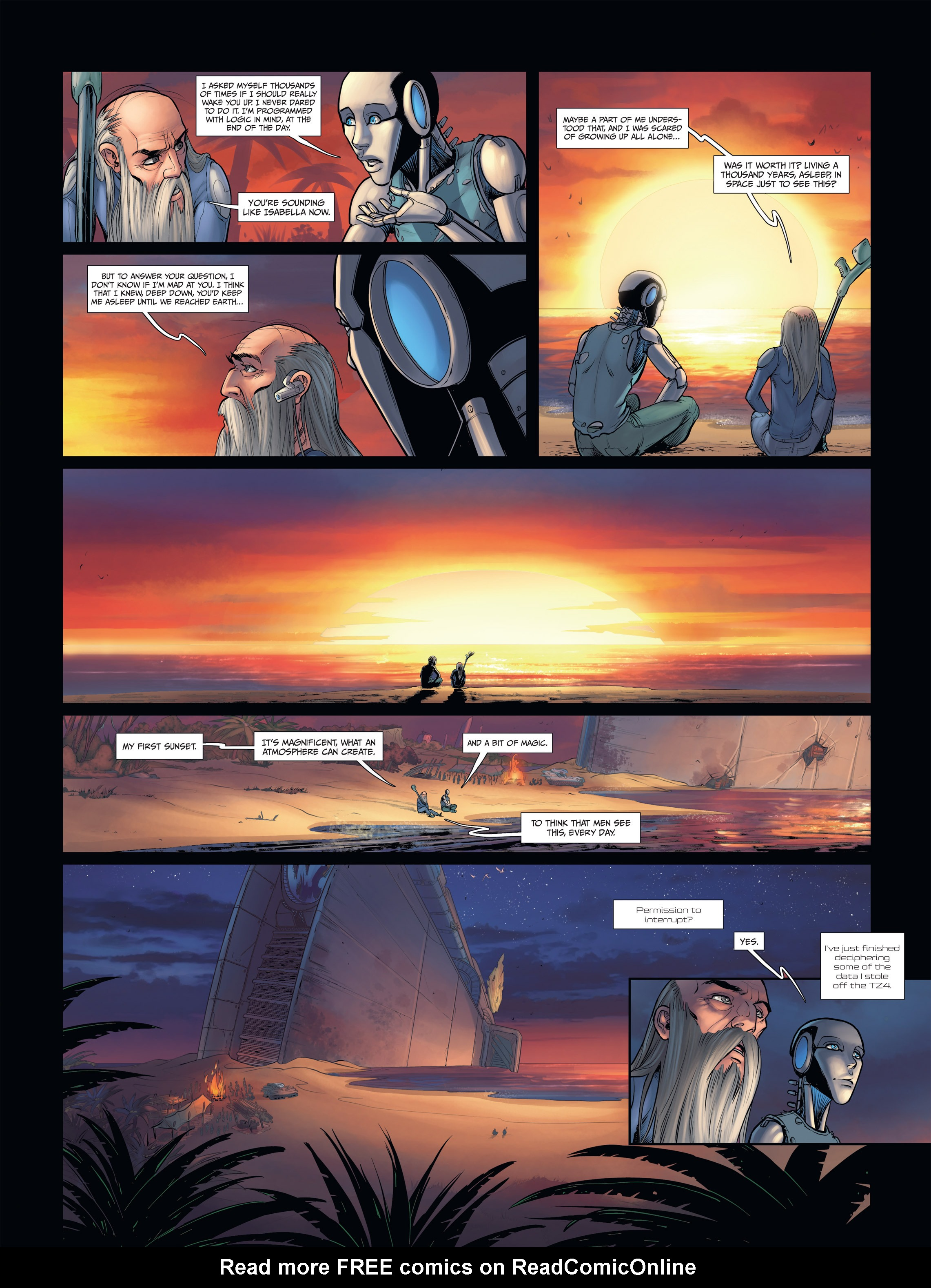 Read online Androïds comic -  Issue #2 - 34