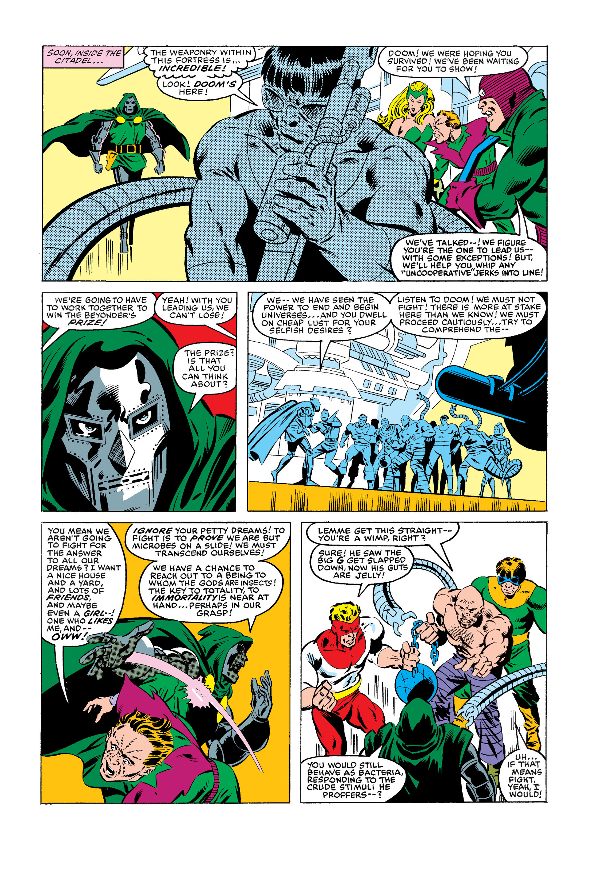 Read online Secret Wars (1985) comic -  Issue #1 - 19