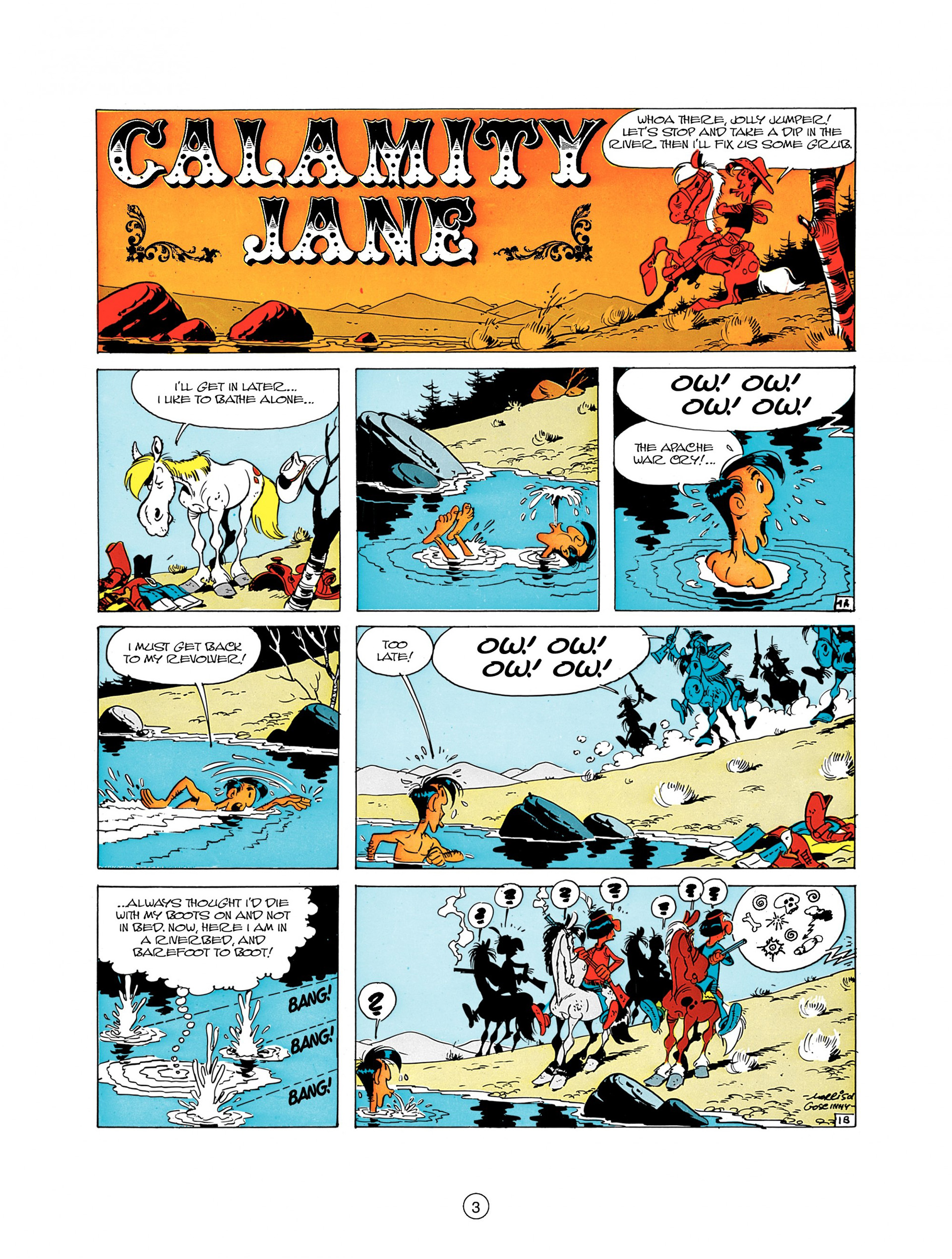 Read online A Lucky Luke Adventure comic -  Issue #8 - 3
